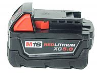 Milwaukee 48-11-1850 M18 5.0 Ah Redlithium XC Single Battery Pack