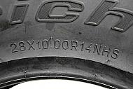 BFGoodrich-28x10R14-Mud-Terrain-KM3-All-Terrain-UTV-Tire-Single-Tire-image-3