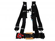 Pro Armor A114220 Black 4-Point Harness 2inch Straps