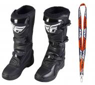 Fly Racing Maverik MX Boots 2020 Adult Black Size 7