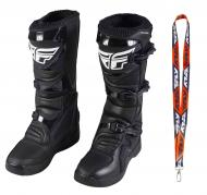 Fly Racing Maverik MX Boots 2020 Adult Black Size 10