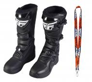 Fly Racing Maverik MX Boots 2020 Adult Black Size 11