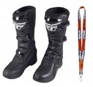 Fly Racing Maverik MX Boots 2020 Adult Black Size 13