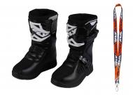 Fly Racing Maverik MX Boots 2020 Youth Black Size 1