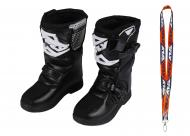 Fly Racing Maverik MX Boots 2020 Youth Black Size 2