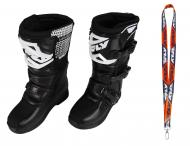 Fly Racing Maverik MX Boots 2020 Youth Black Size 3