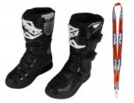 Fly Racing Maverik MX Boots 2020 Youth Black Size 5