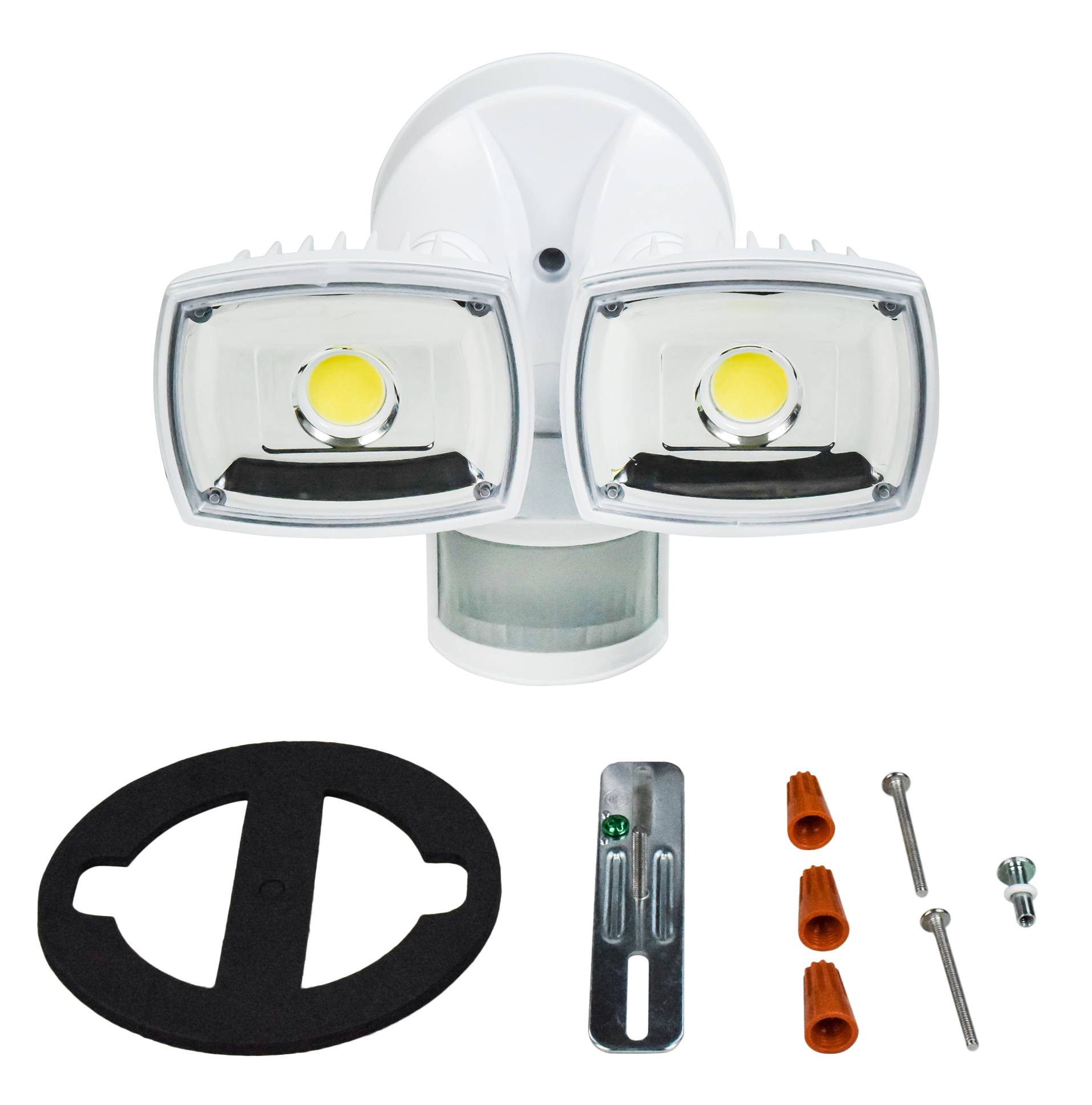 Home Zone Security Bright Led Motion Activated Security Light Weatherproof Es00730v