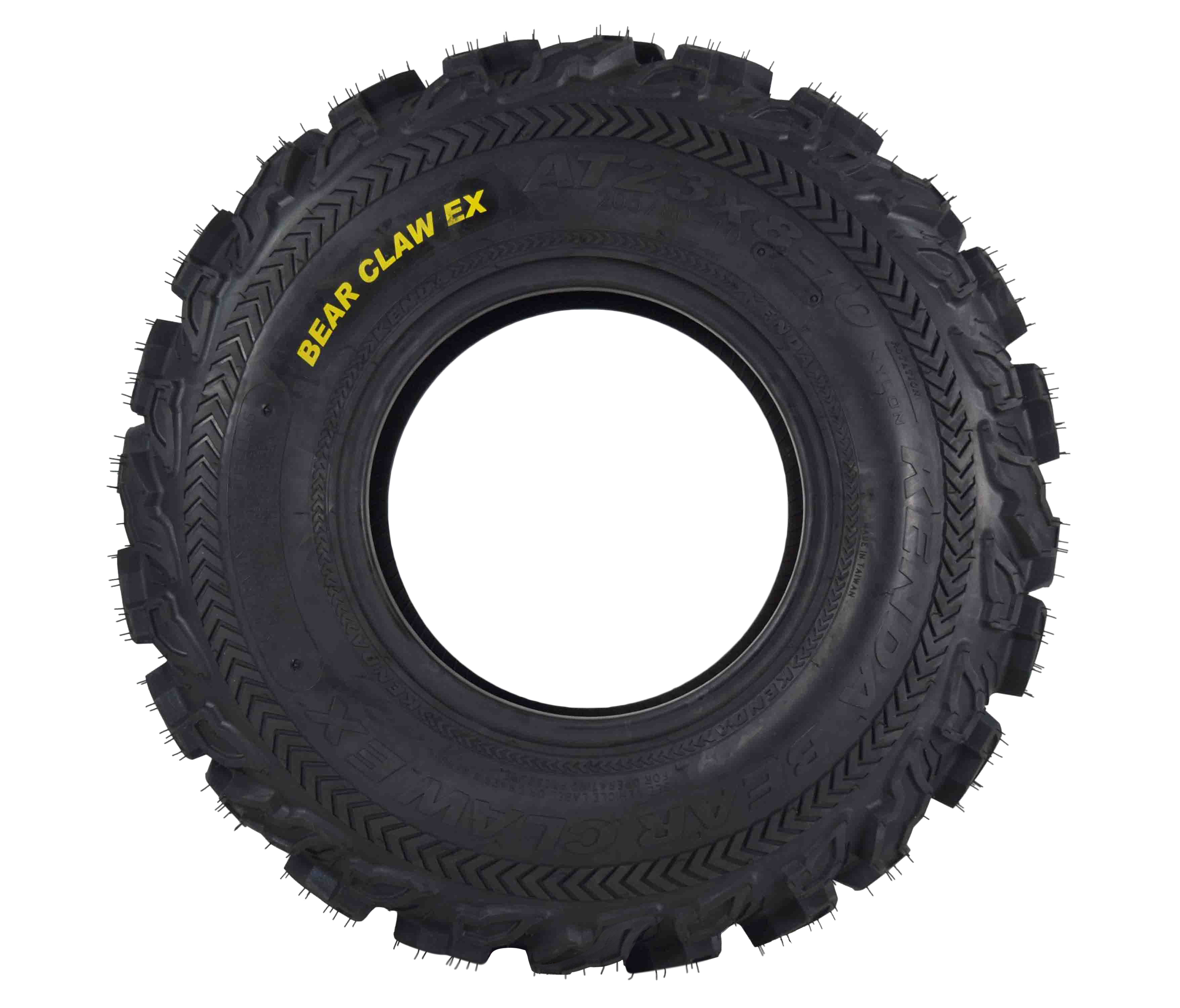 Kenda-Bear-Claw-EX-23x8-10-Front-ATV-6-PLY-Tire-Bearclaw-23x8x10-Single-Tire-image-2