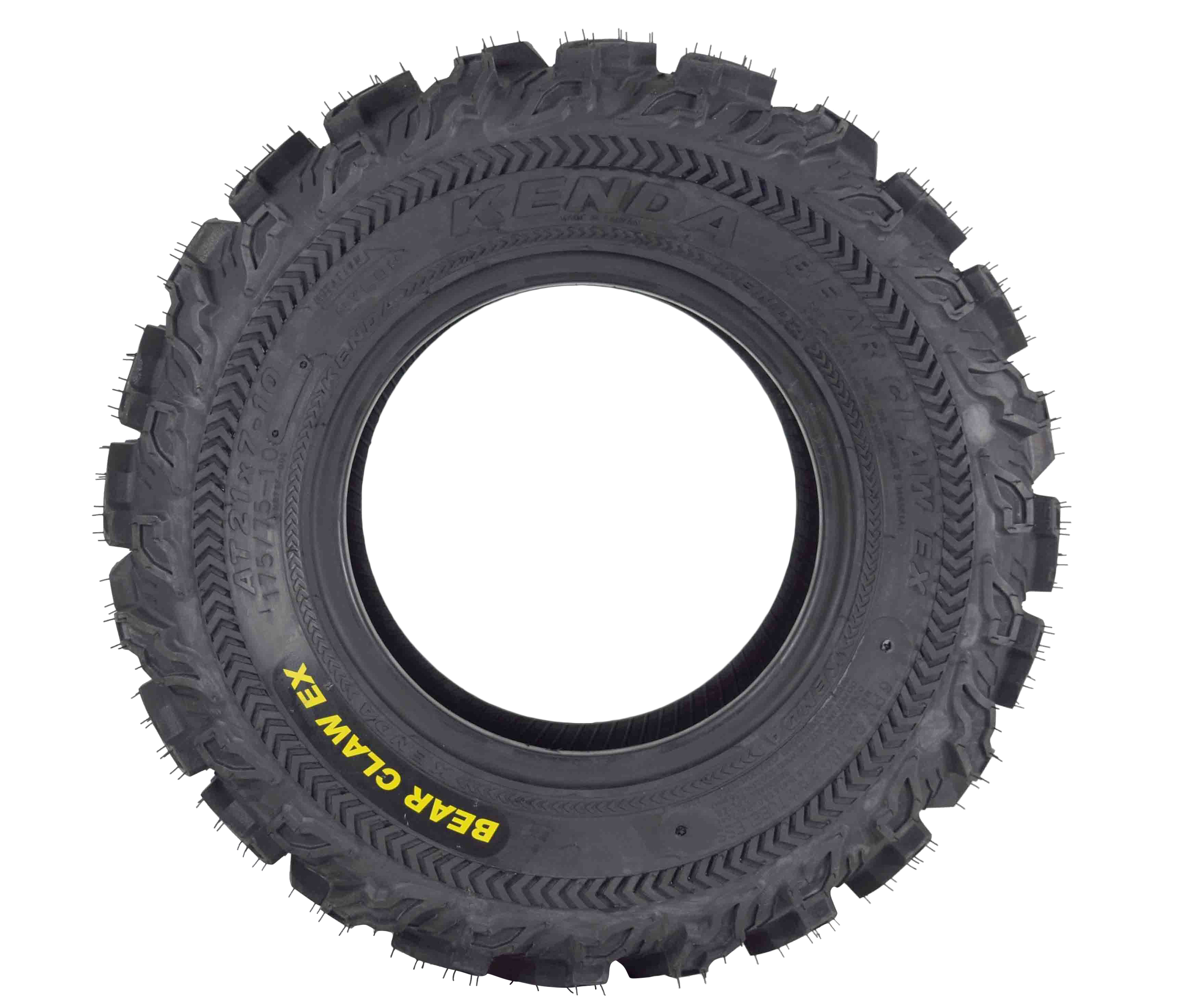 Kenda-Bear-Claw-EX-21x7-10-Front-ATV-6-PLY-Tire-Bearclaw-21x7x10-Single-Tire-image-2
