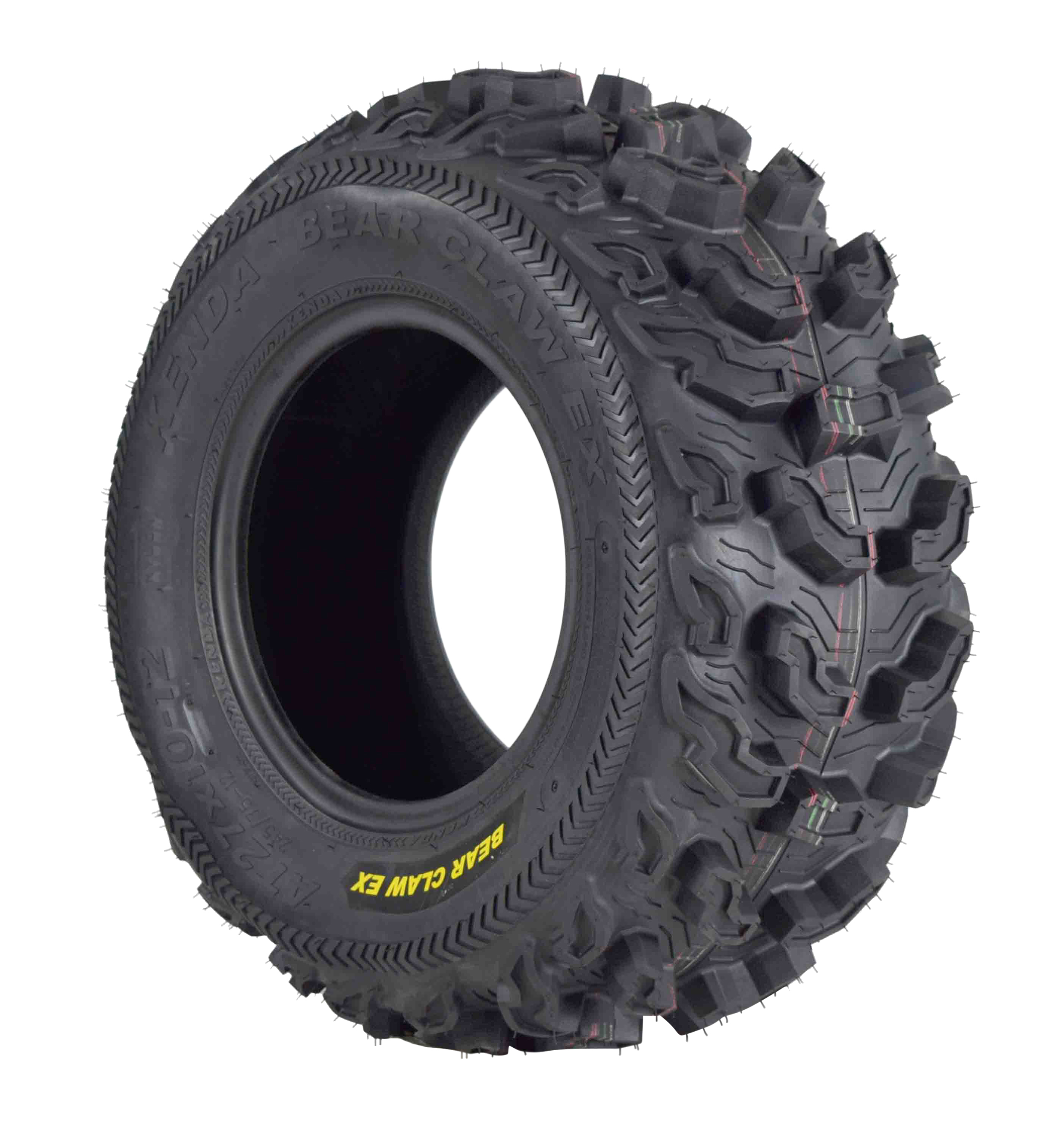 Kenda-Bear-Claw-EX-27x10-12-Front-ATV-6-PLY-Tire-Bearclaw-27x10x12-Single-Tire-image-1