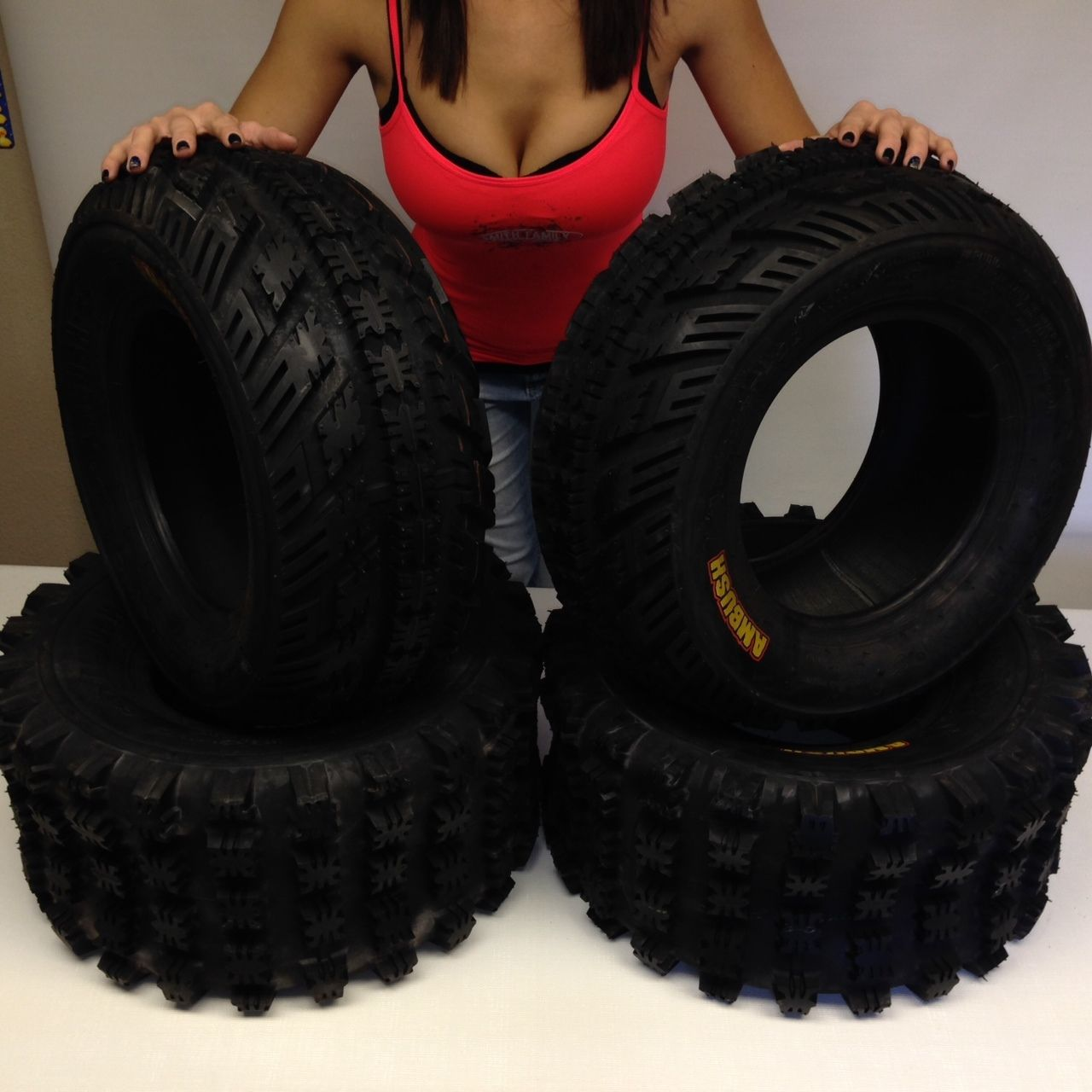 SUZUKI LTZ 400 AMBUSH SPORT ATV TIRES ( SET 4 ) 22X7-10 ...