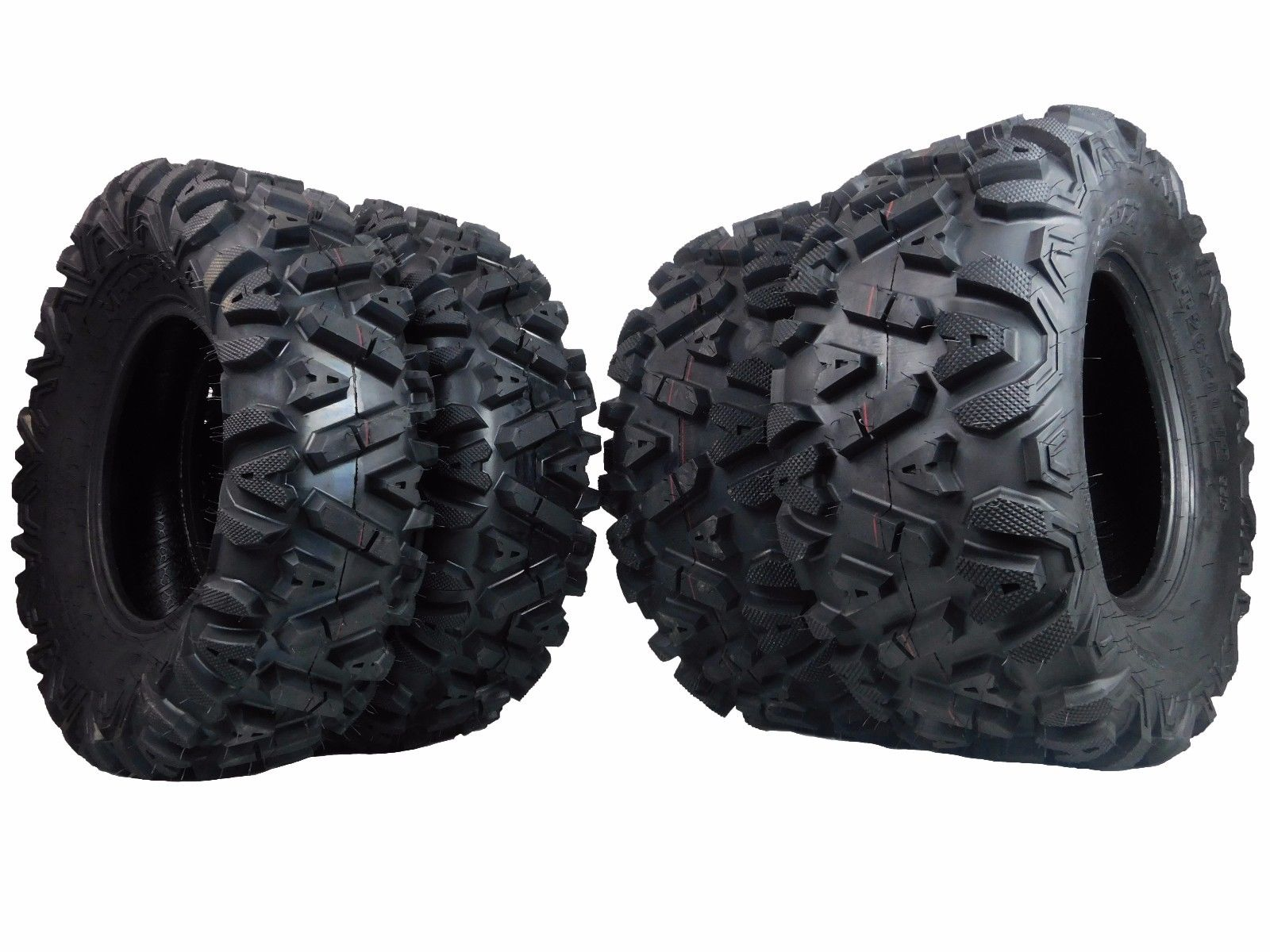 MASSFX-KT-26x912-and-26x11-12-ATV-KT-Tire-4-set-26x9-12-Front-26x11-12-Rear-6Ply-26inch-image-1