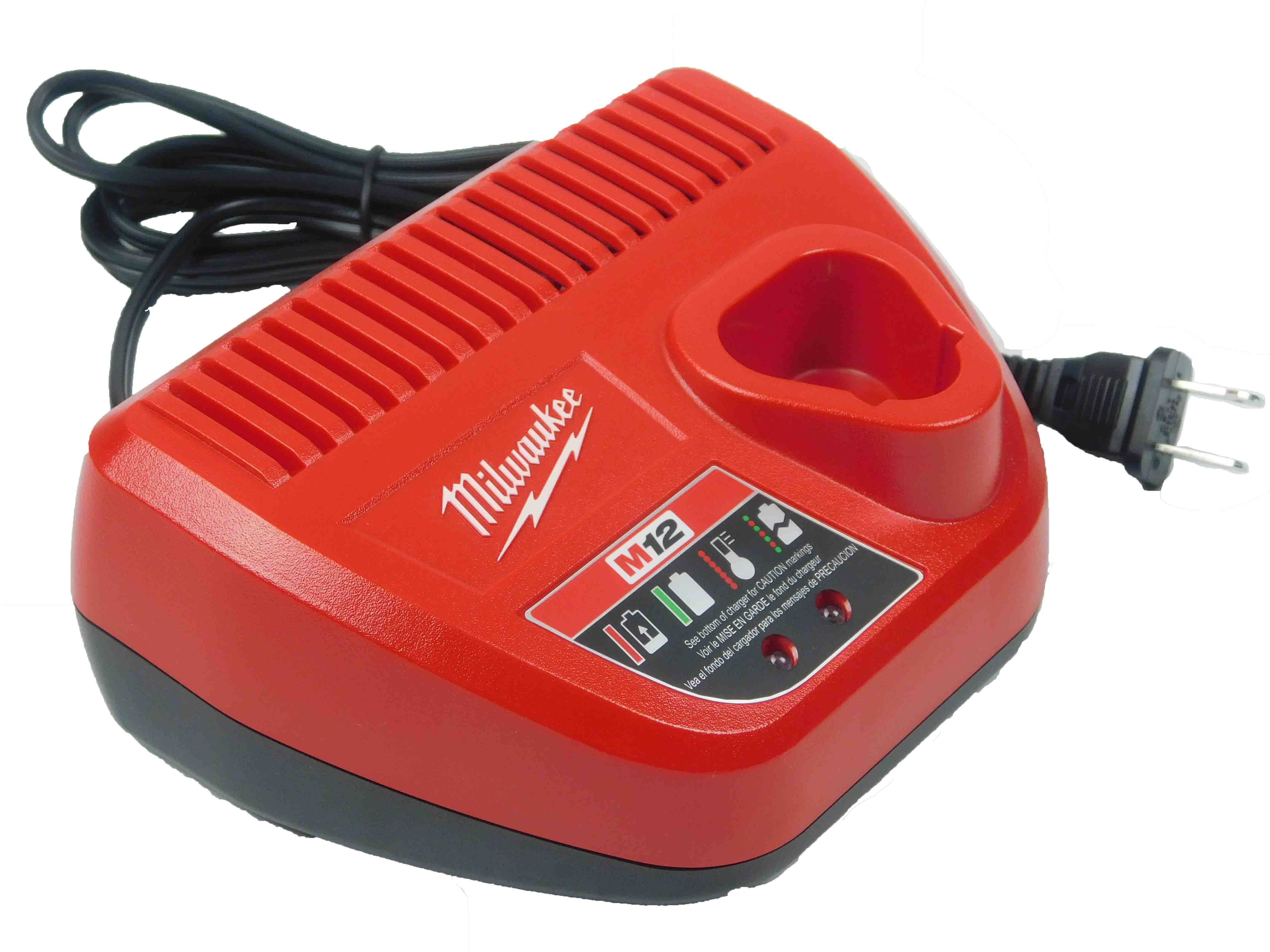 Milwaukee M12 30 Minute Ion Charger 48-59-2401