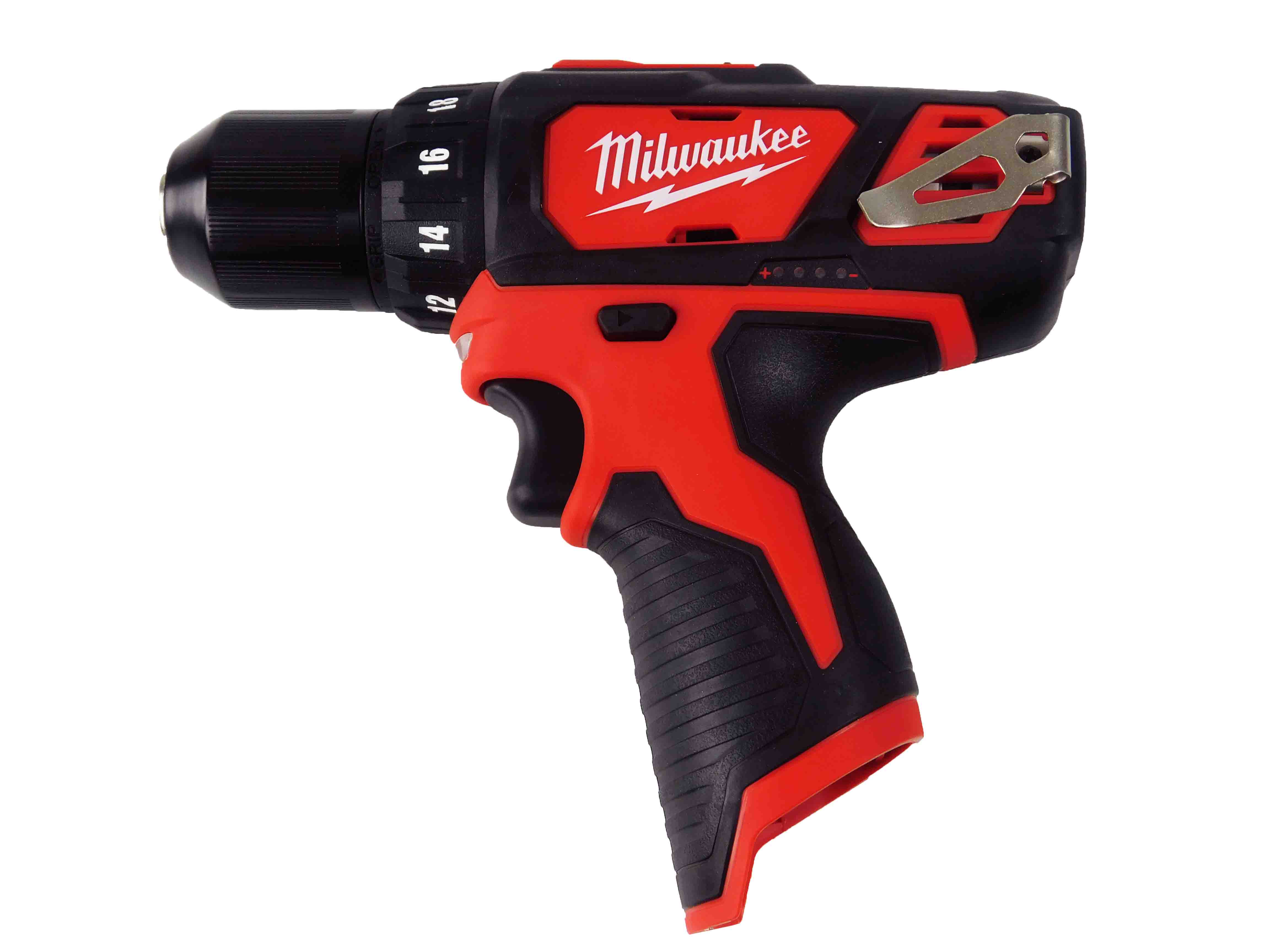 Milwaukee-2407-20-12V-M12-3-8inch-Chuck-Drill-Driver-2-Speed-image-1