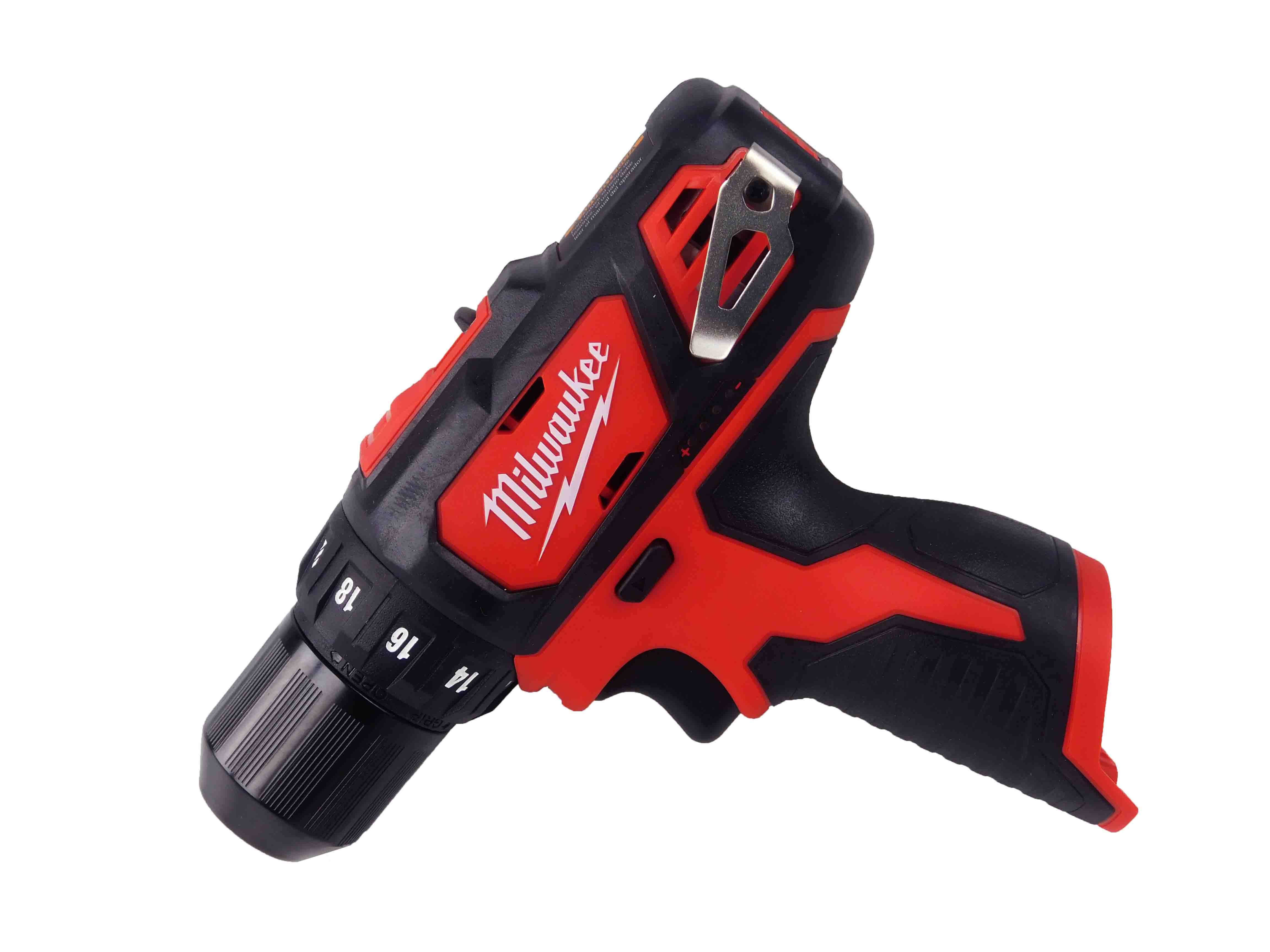 Milwaukee-2407-20-12V-M12-3-8inch-Chuck-Drill-Driver-2-Speed-image-2