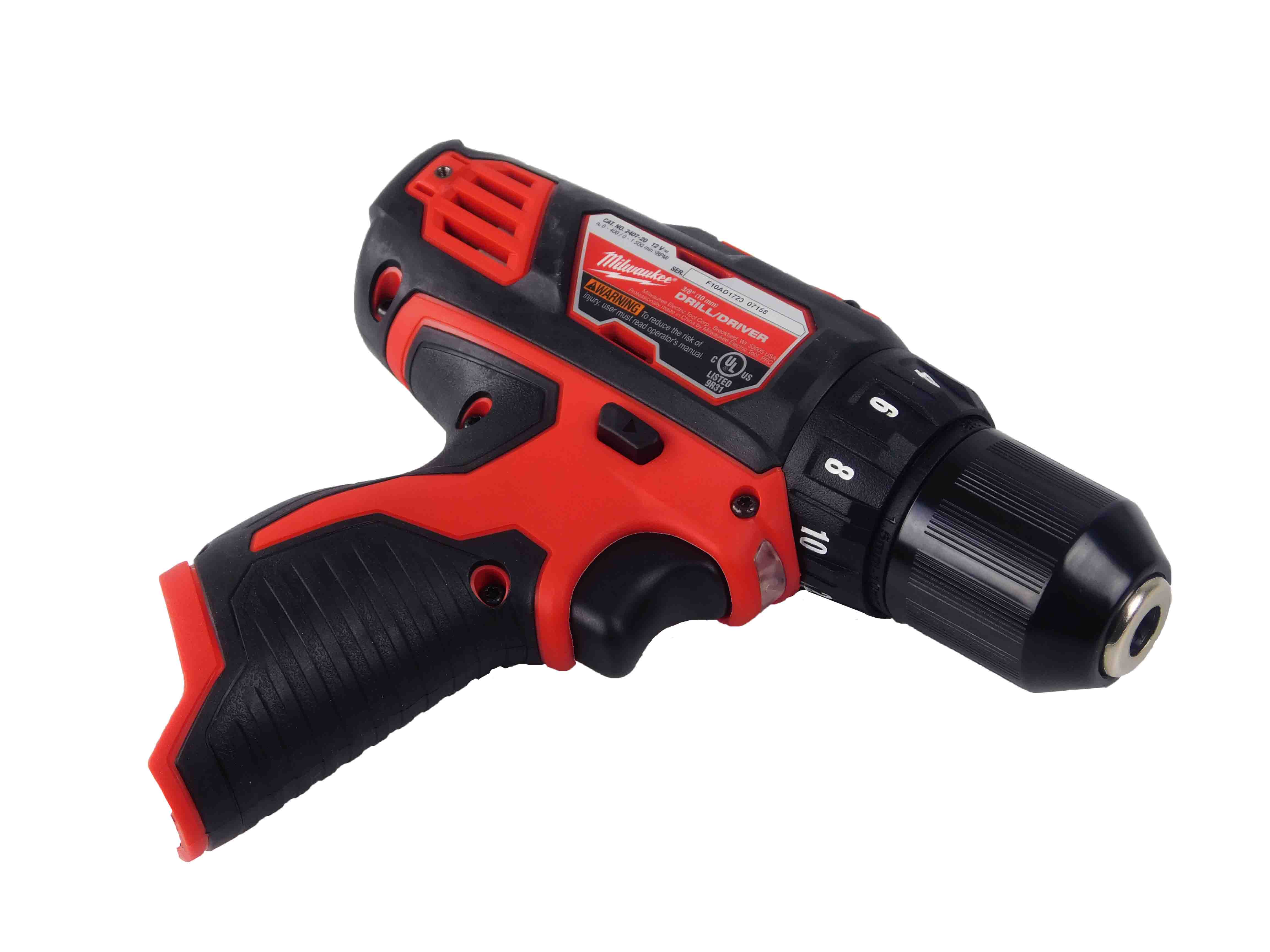 Milwaukee-2407-20-12V-M12-3-8inch-Chuck-Drill-Driver-2-Speed-image-3