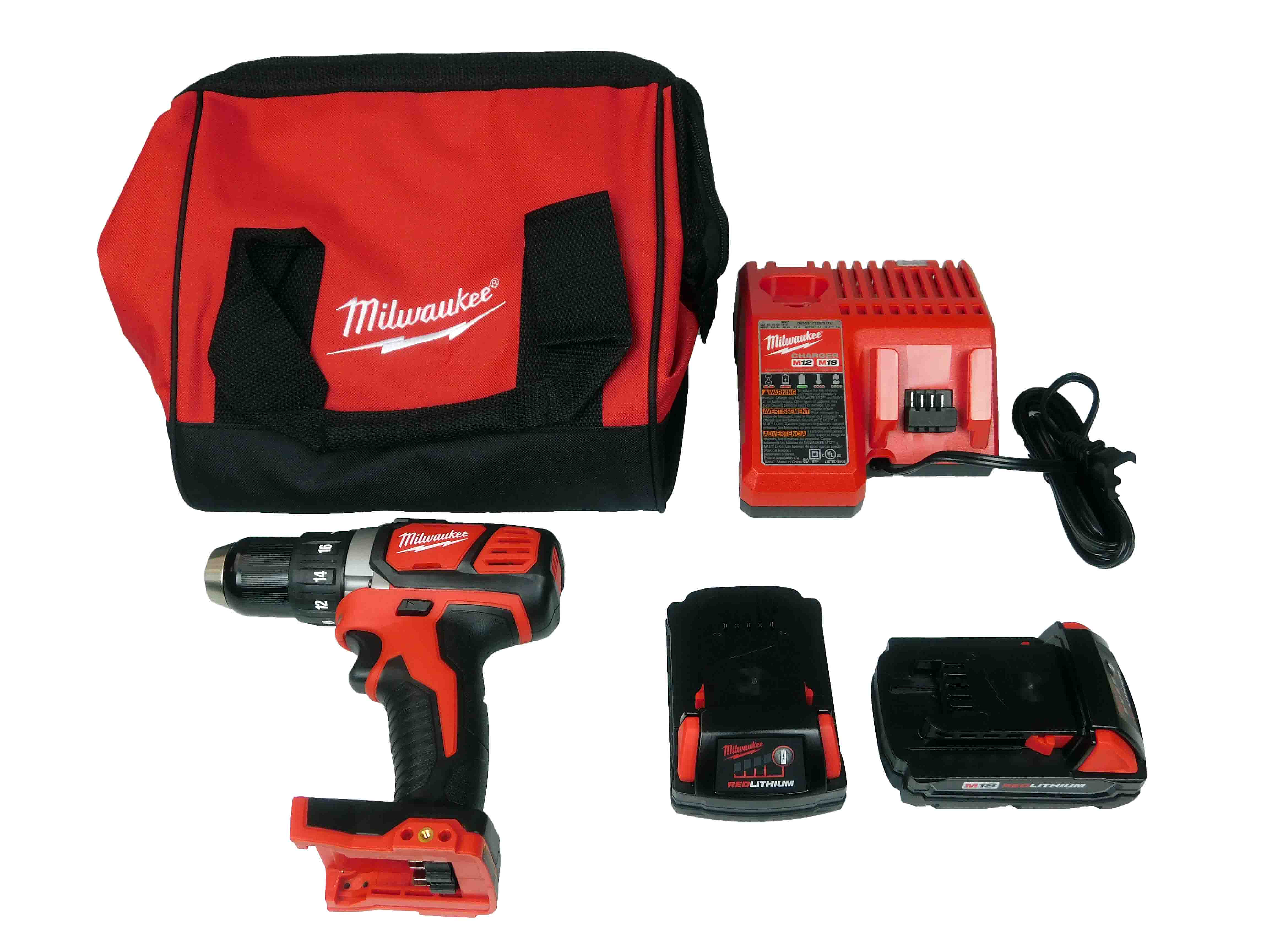 Milwaukee-2606-22CT-M18-Compact-1-2inch-Drill-Driver-Kit-image-1