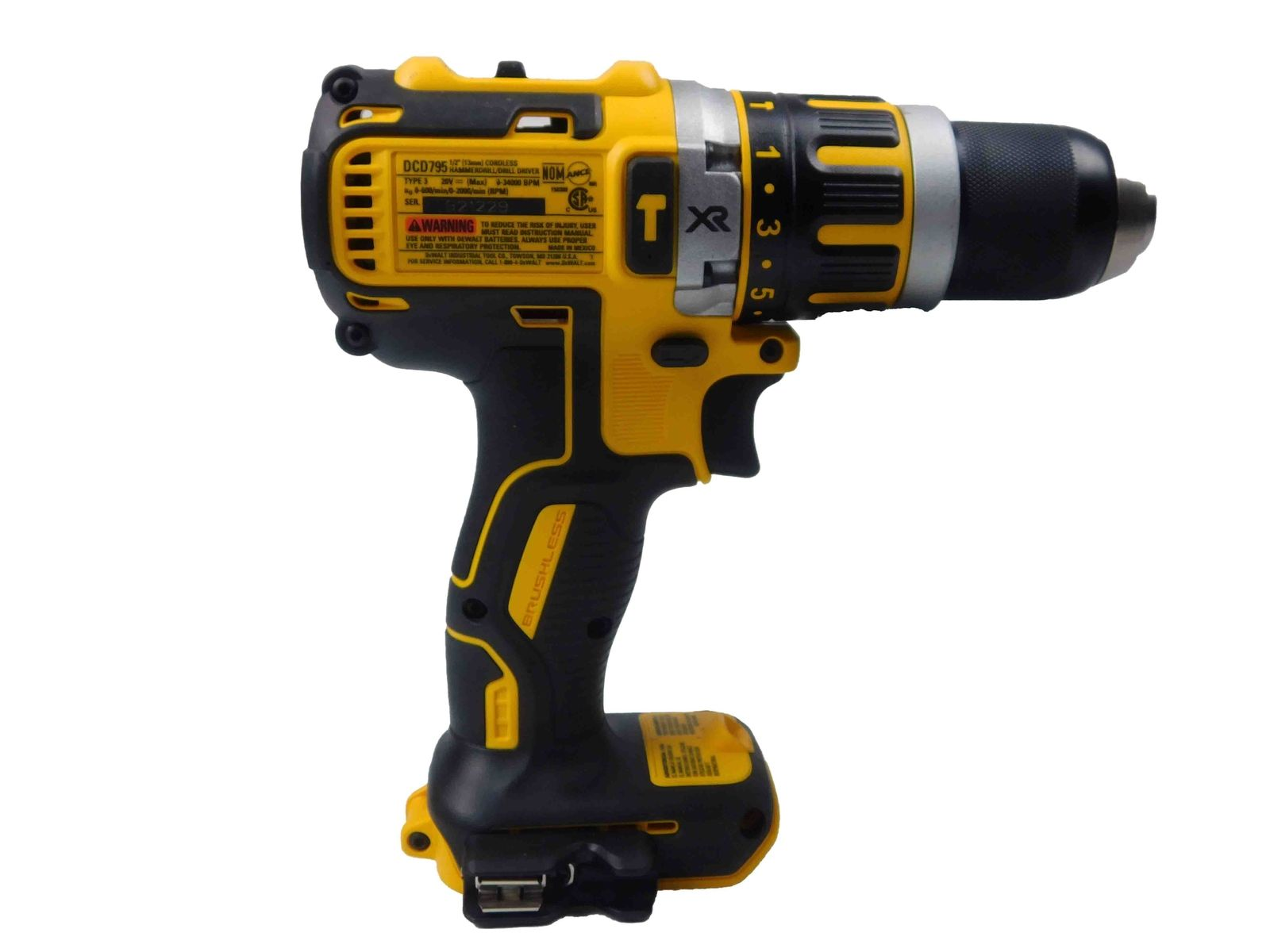 Dewalt-DCD796B-20V-Brushless-Hammer-Drill-DCB204-4-Ah-Battery-Pack-image-3