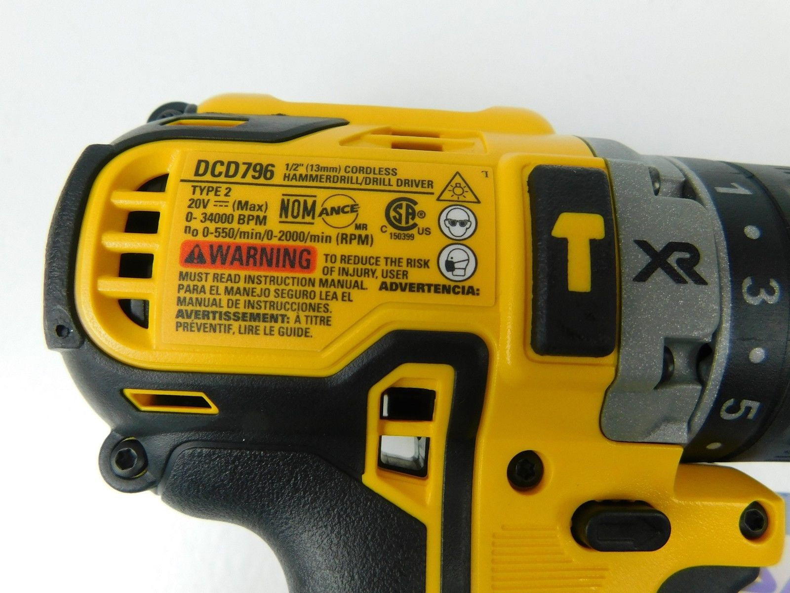 Dewalt-DCD796B-20V-Max-Xr-Lithium-ion-1-2-Cordless-Brushless-Compact-image-2