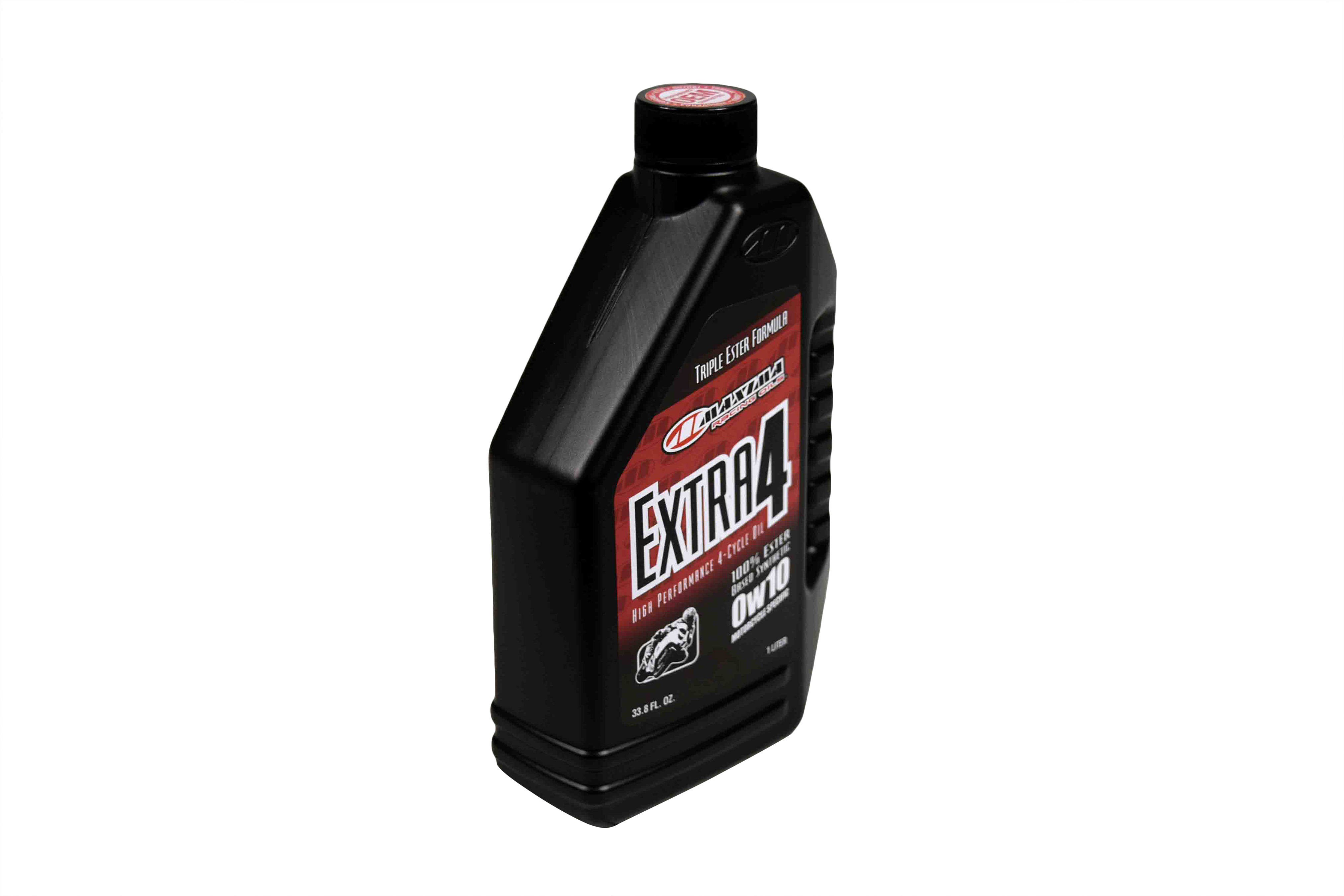 Maxima-30-13901-Extra4-0W-10-Synthetic-4T-Motorcycle-Engine-Oil-1-Liter-Bottle-image-2