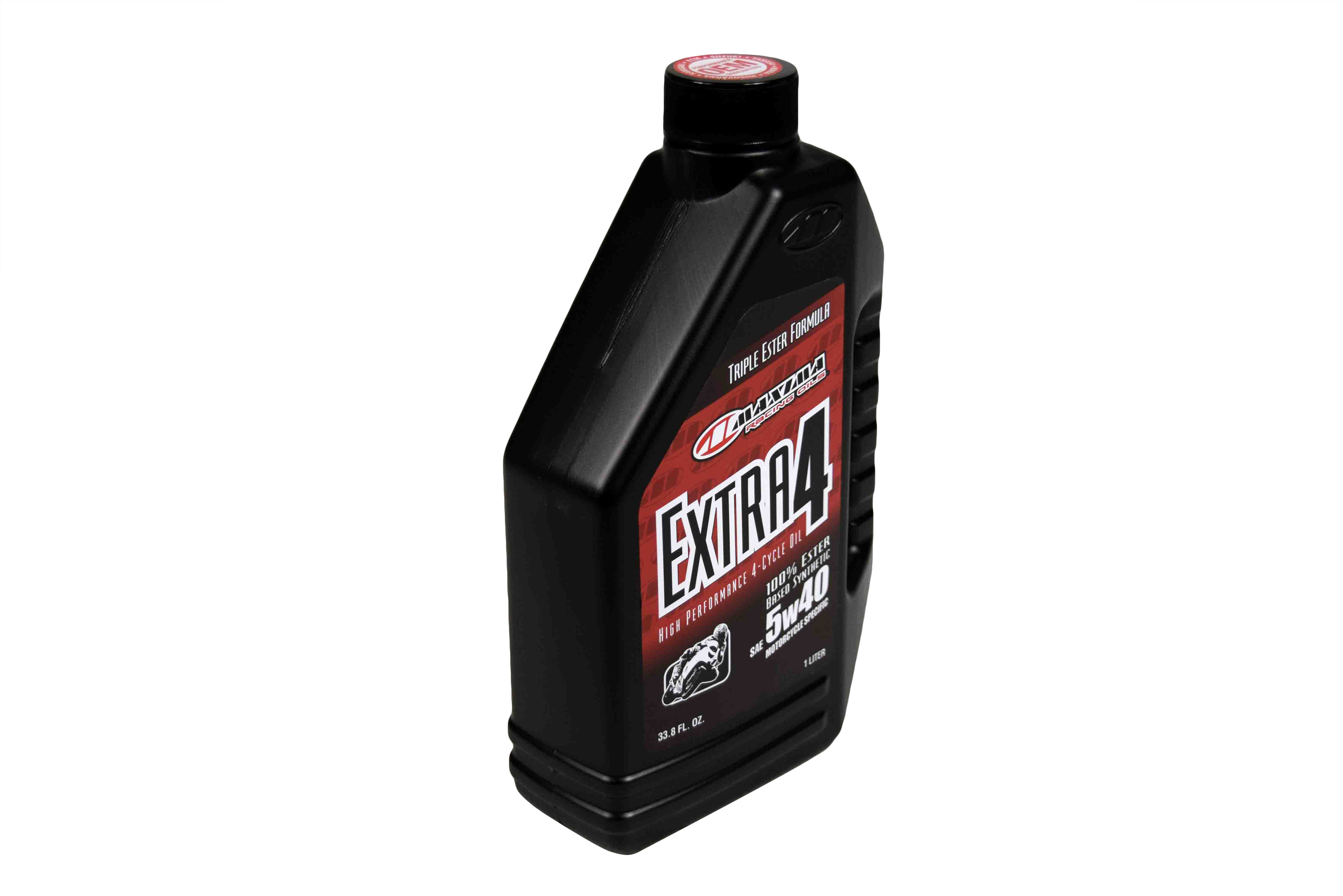 Maxima-30-17901-Extra4-5W-40-Synthetic-4T-Motorcycle-Engine-Oil-1-Liter-Bottle-image-2