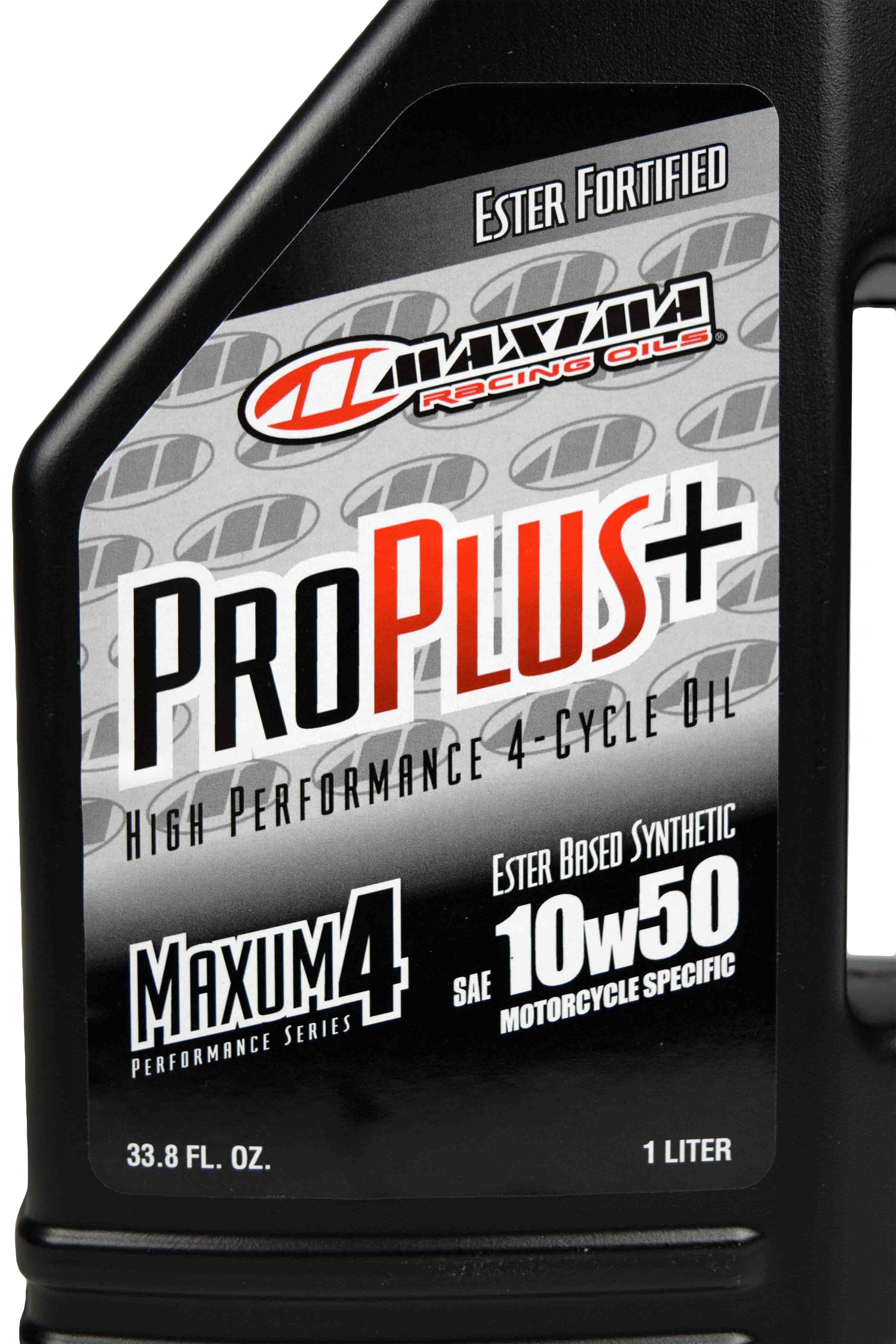 Maxima-Racing-Oils-30-19901-Pro-Plus-10W-50-Synthetic-Motorcycle-Oil-1-Liter-image-4