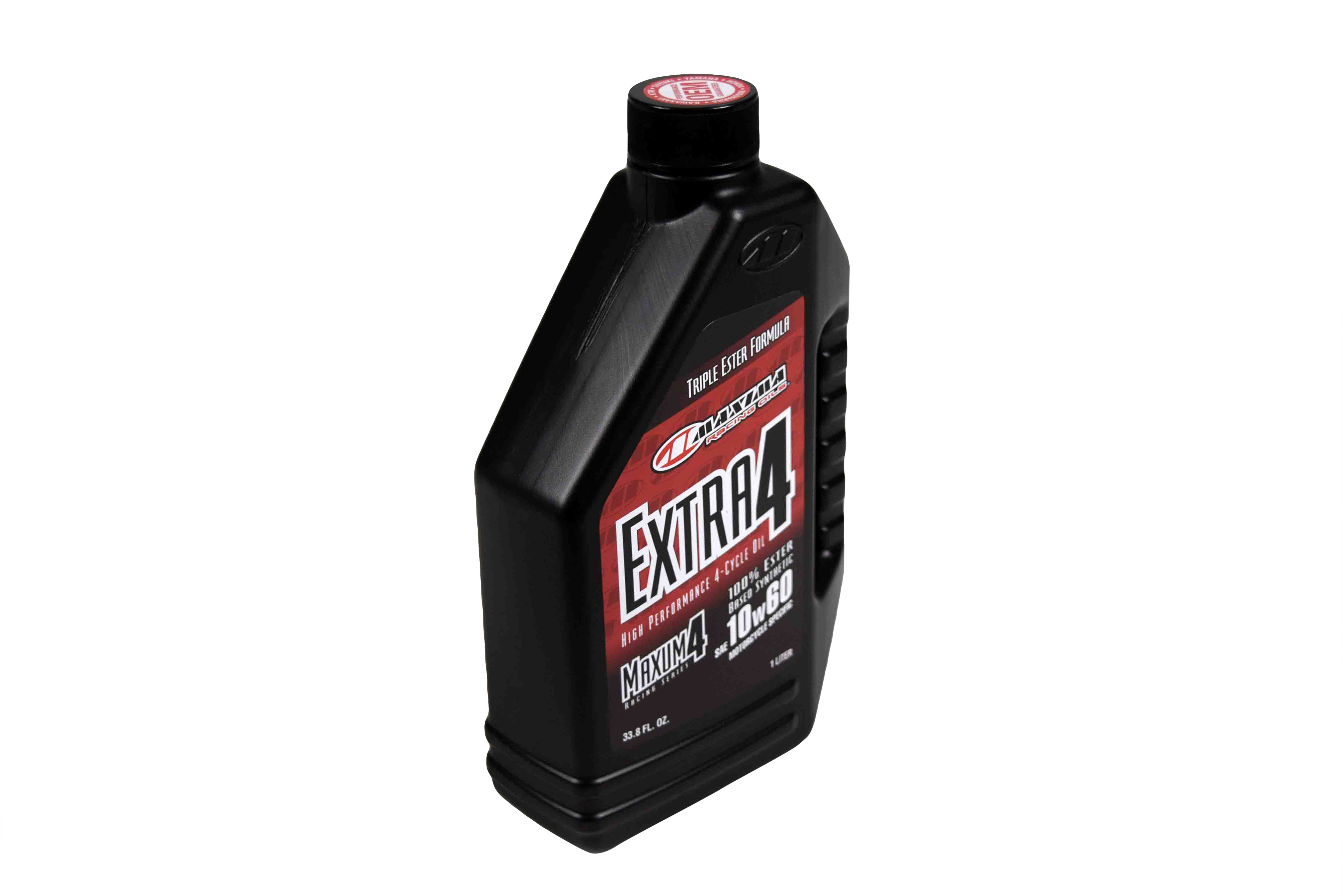 Maxima-30-30901-Extra4-10W-60-Synthetic-4T-Motorcycle-Engine-Oil-1-Liter-Bottle-image-2