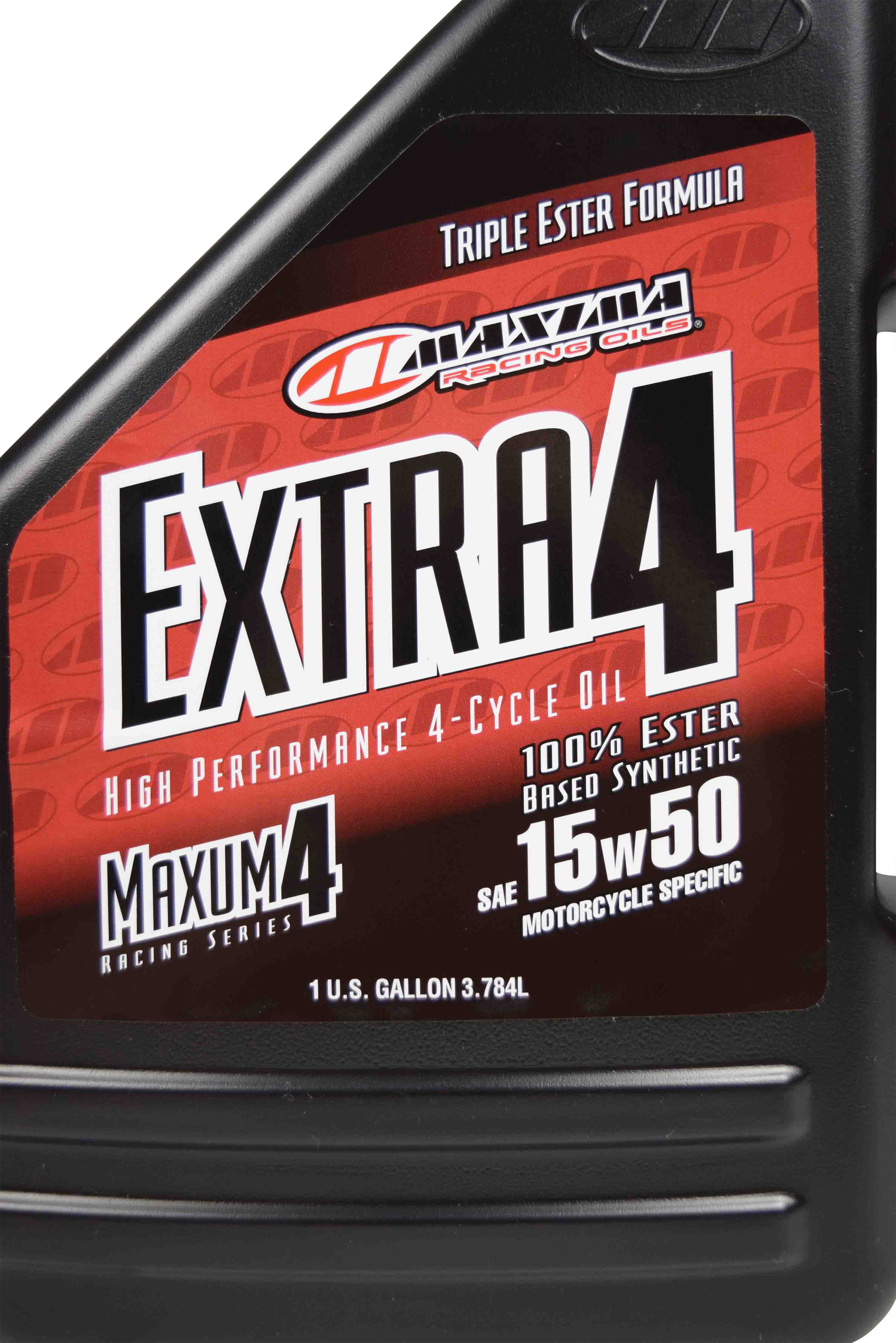 Maxima-329128-Extra4-15W-50-Synthetic-4T-Motorcycle-Engine-Oil-1-Gallon-Jug-image-4