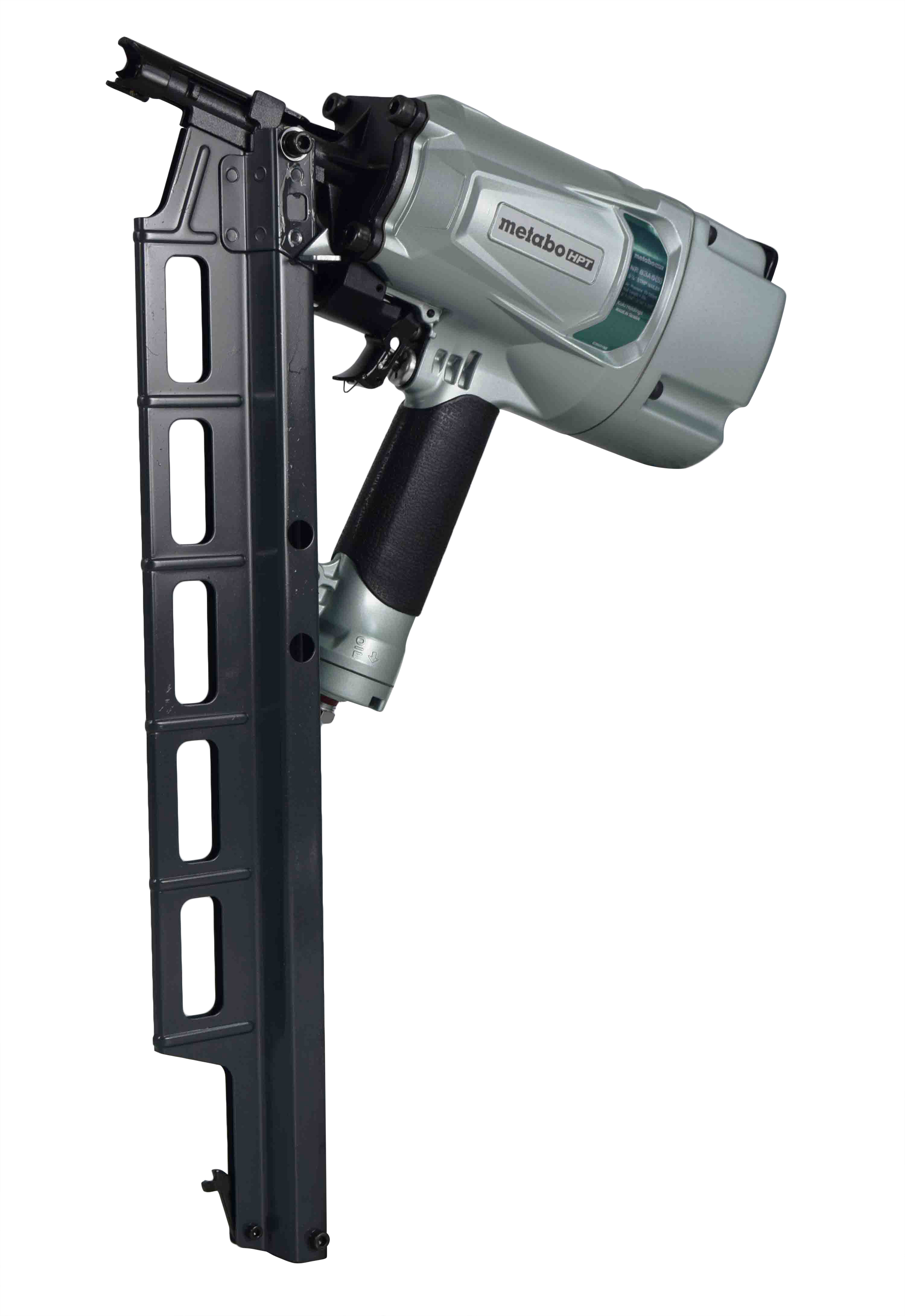 Metabo-NR83A5-S-HPT-Pneumatic-Framing-Nailer-With-21-Degree-Magazine-image-1