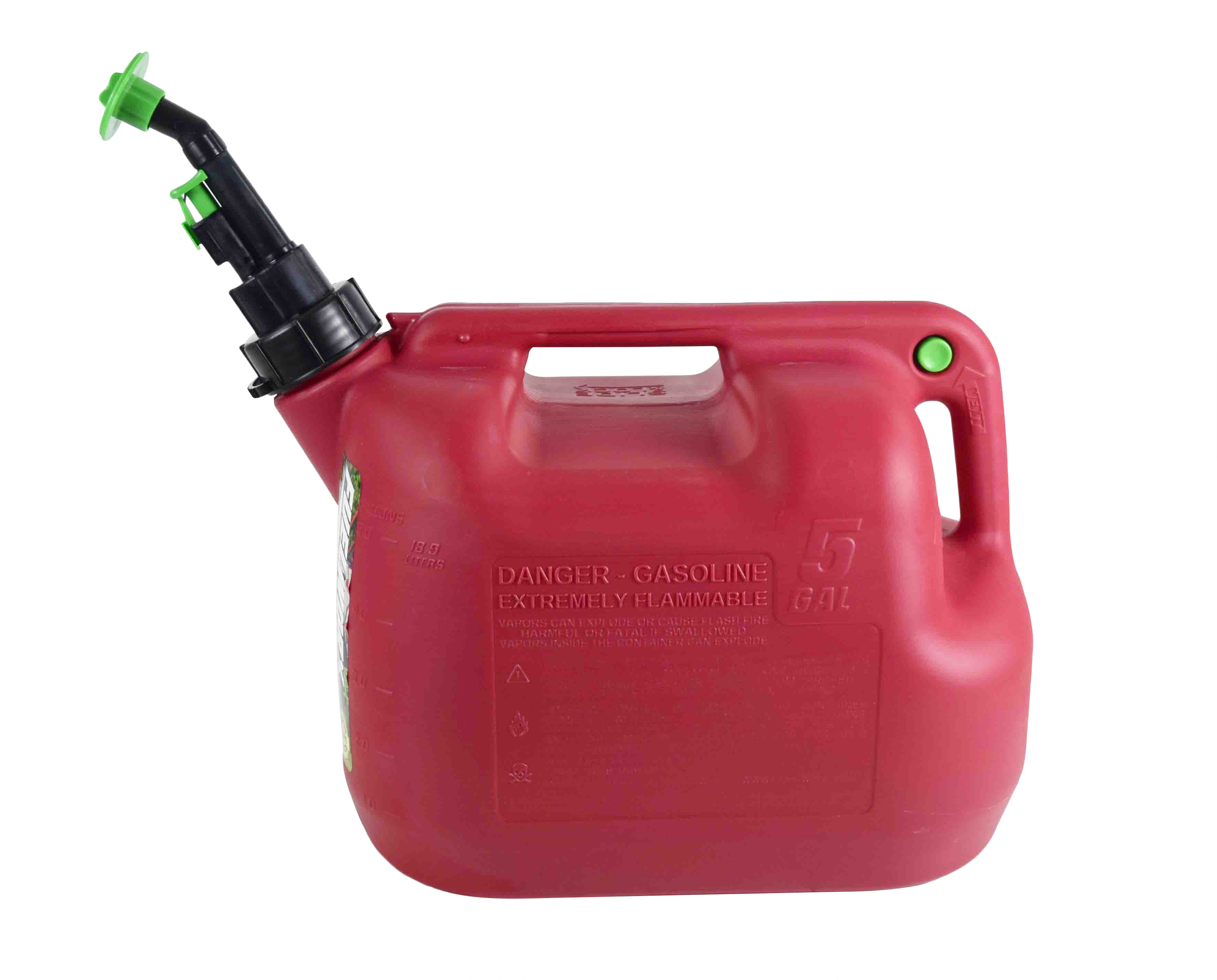 Fuelworx-Red-5-Gallon-Stackable-Fast-Pour-Gas-Fuel-Can-CARB-Compliant-Made-in-The-USA-5-Gallon-Gas-Can-Single-image-2