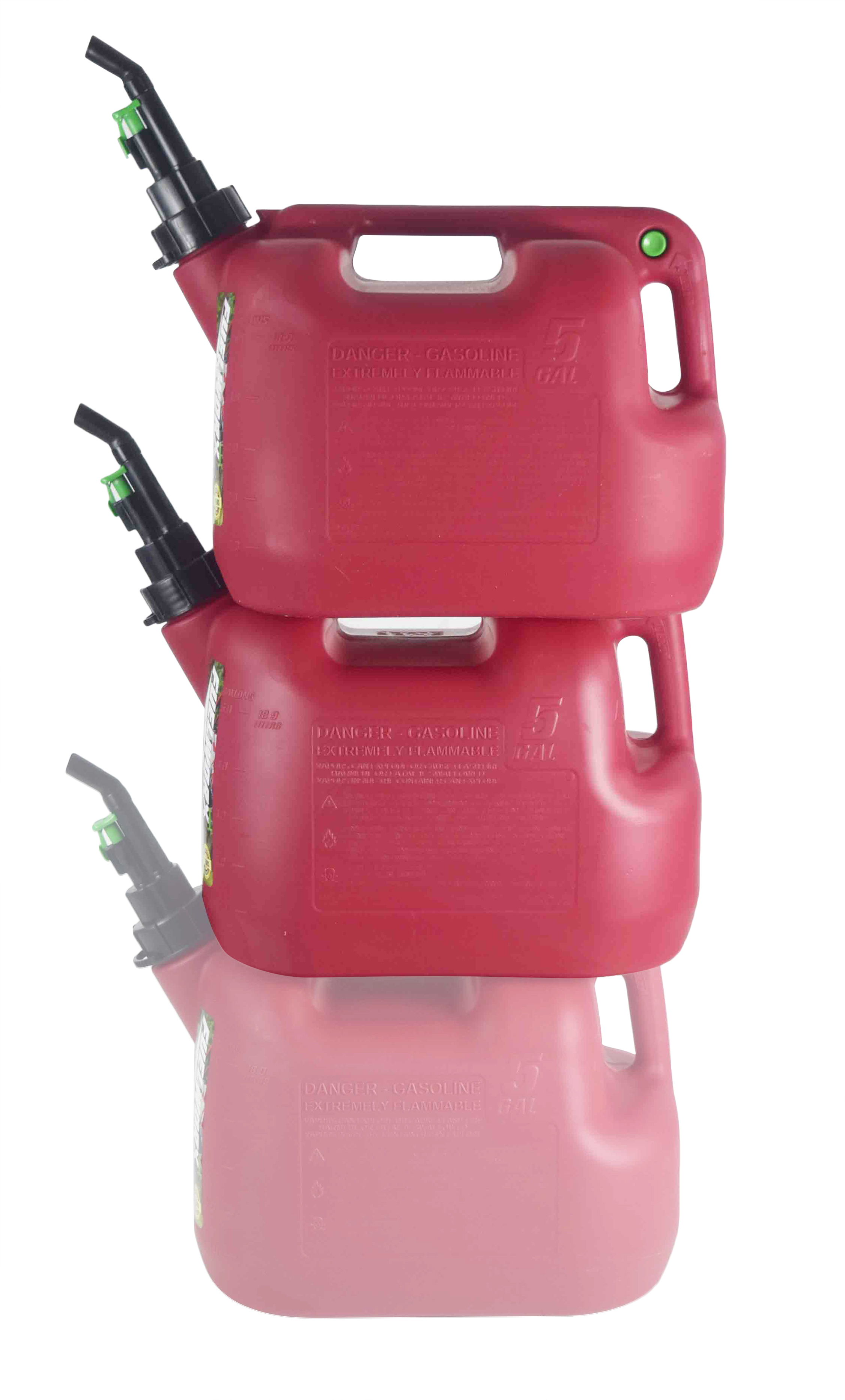 Fuelworx-Red-5-Gallon-Stackable-Fast-Pour-Gas-Fuel-Can-CARB-Compliant-Made-in-The-USA-5-Gallon-Gas-Can-2-Pack-image-1