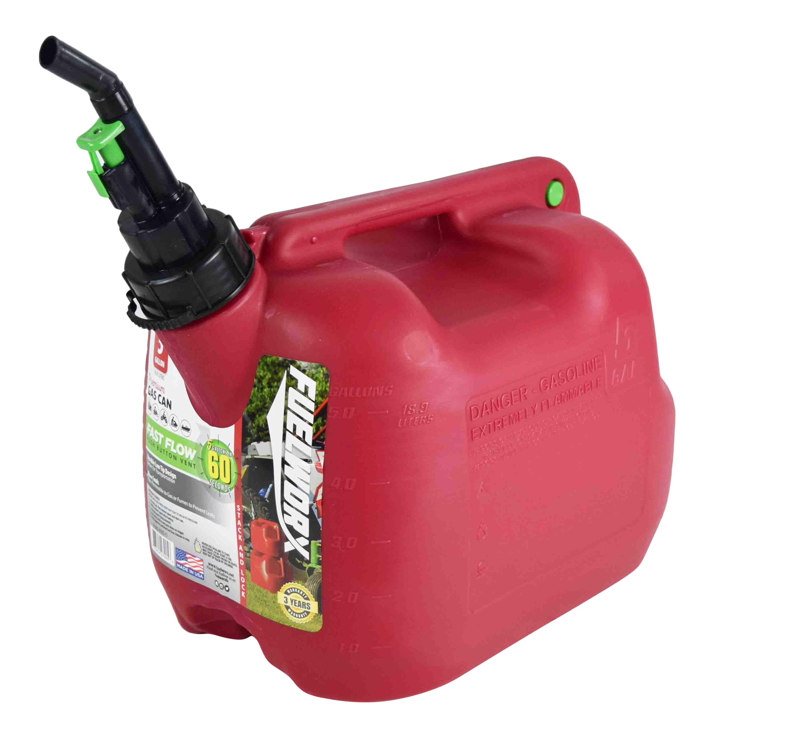 Fuelworx-Red-5-Gallon-Stackable-Fast-Pour-Gas-Fuel-Can-CARB-Compliant-Made-in-The-USA-5-Gallon-Gas-Can-2-Pack-image-4