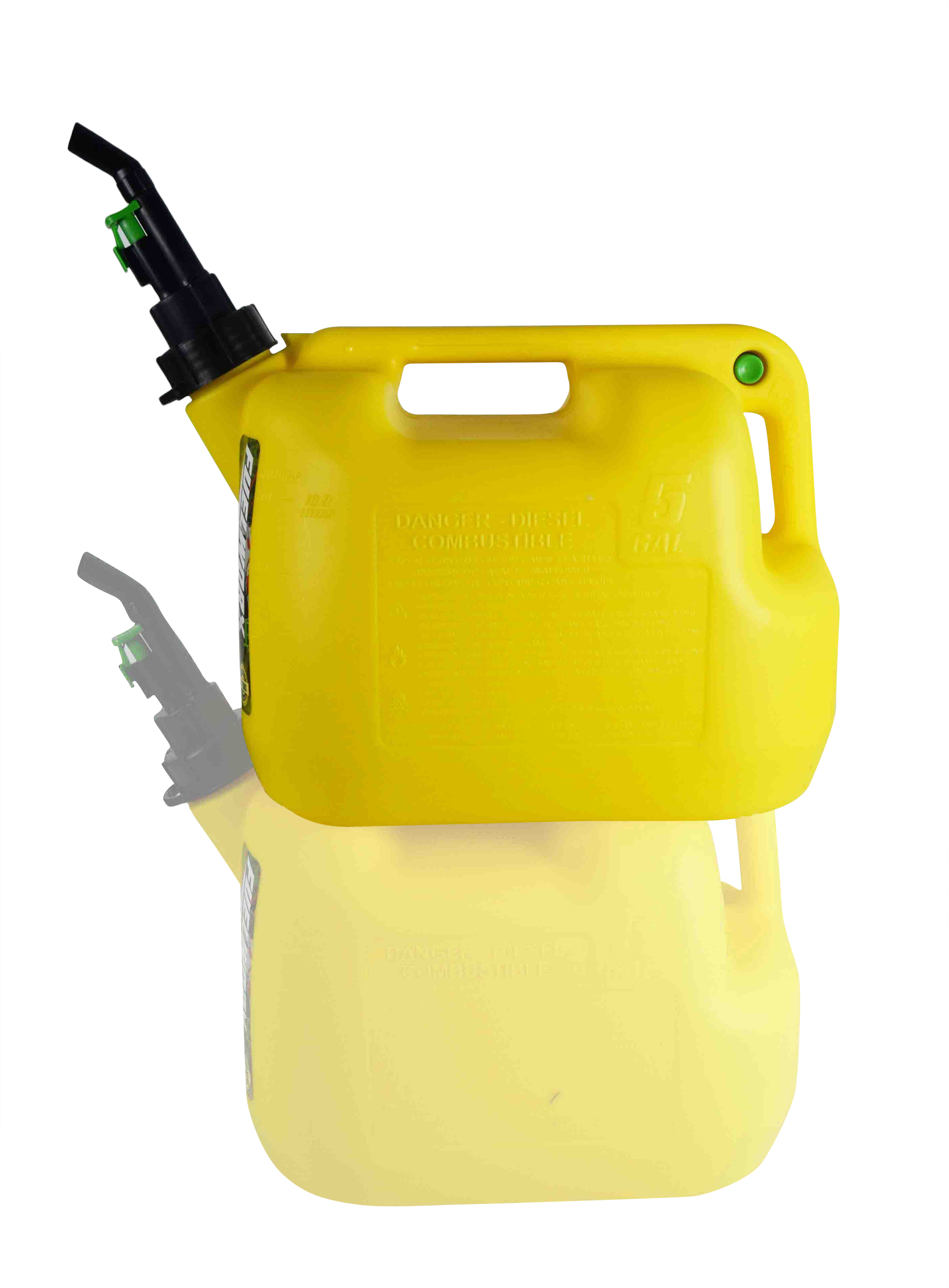 Fuelworx-Yellow-5-Gallon-Stackable-Fast-Pour-Diesel-Fuel-Cans-CARB-Compliant-Made-in-The-USA-5-Gallon-Diesel-Cans-Single-image-1