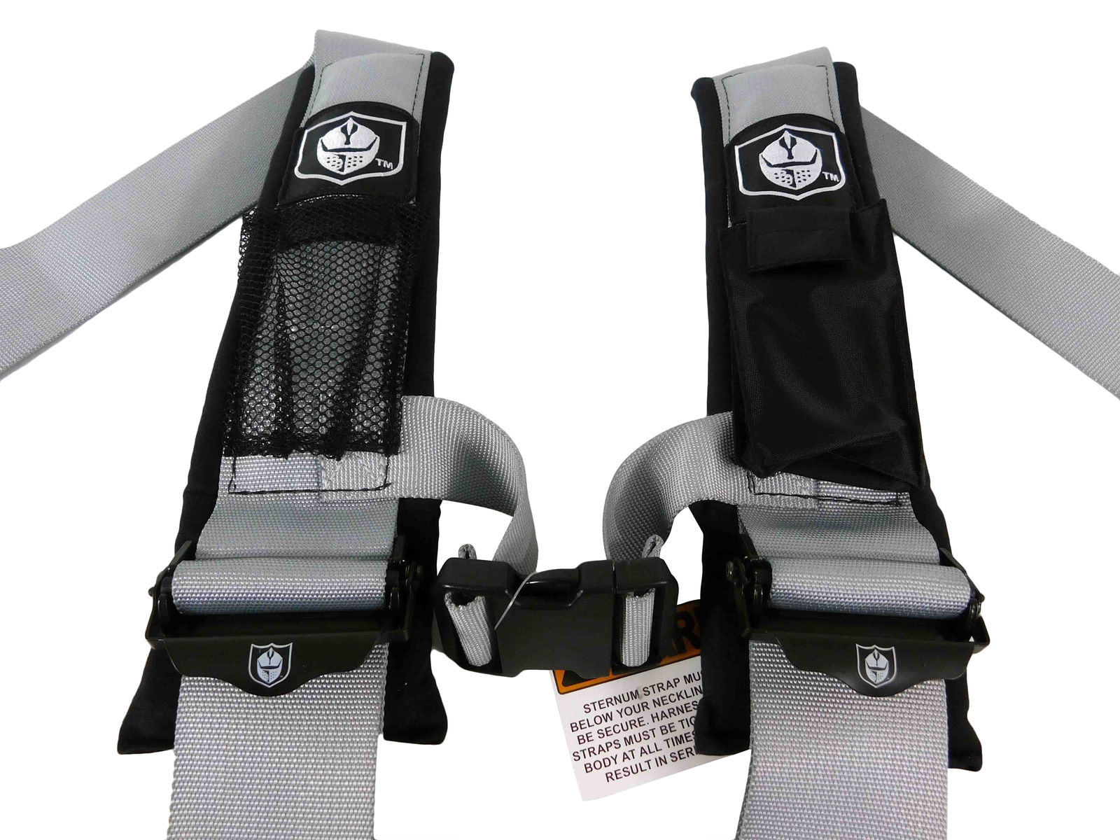 Pro-Armor-A114230ORx2-P151100-4-Point-3-Harness-w-Override-Clip-Silver-2-PACK-image-3