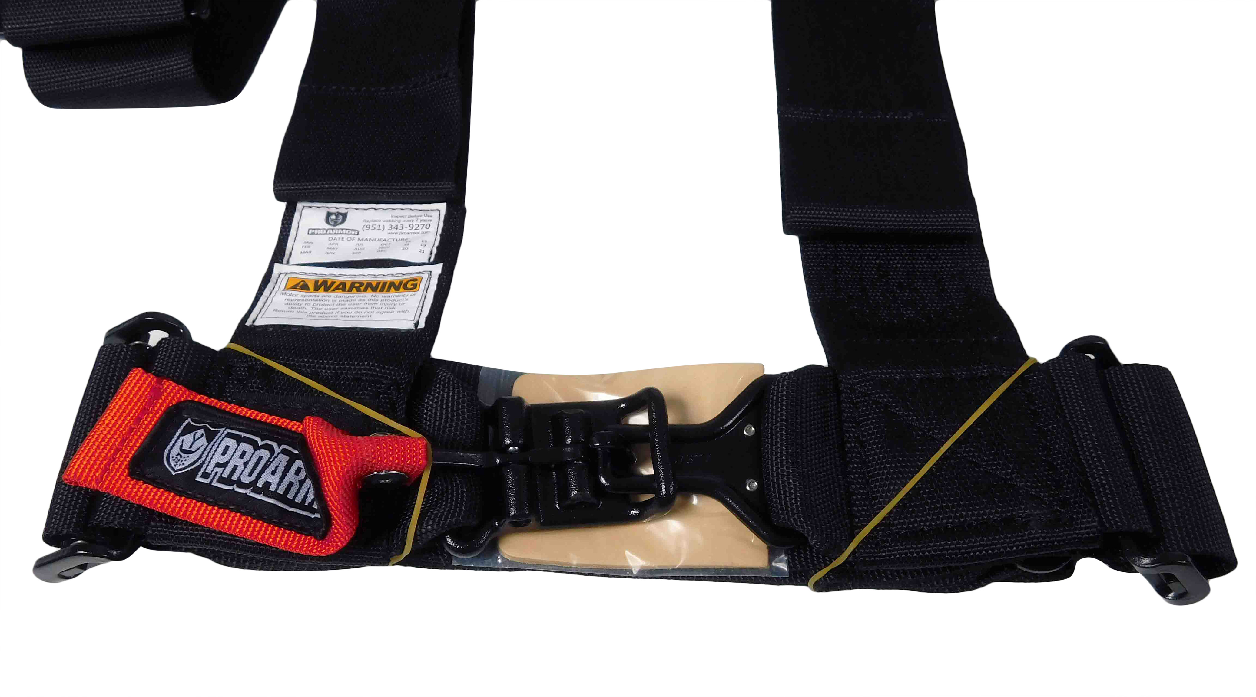 Pro-Armor-A115230-x2-5-Point-3inch-Harness-with-Sewn-in-Pads-Black-2-PACK-image-4