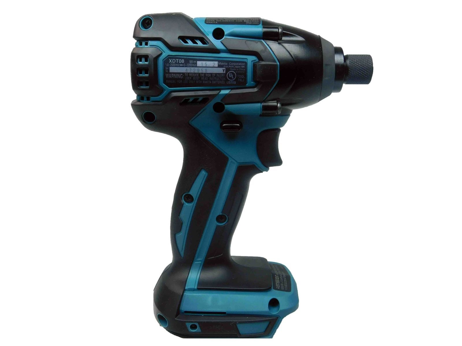 Makita-18V-XDT08-LXT-Lithium-Ion-Brushless-1-4-in.-Cordless-Impact-Driver-image-3