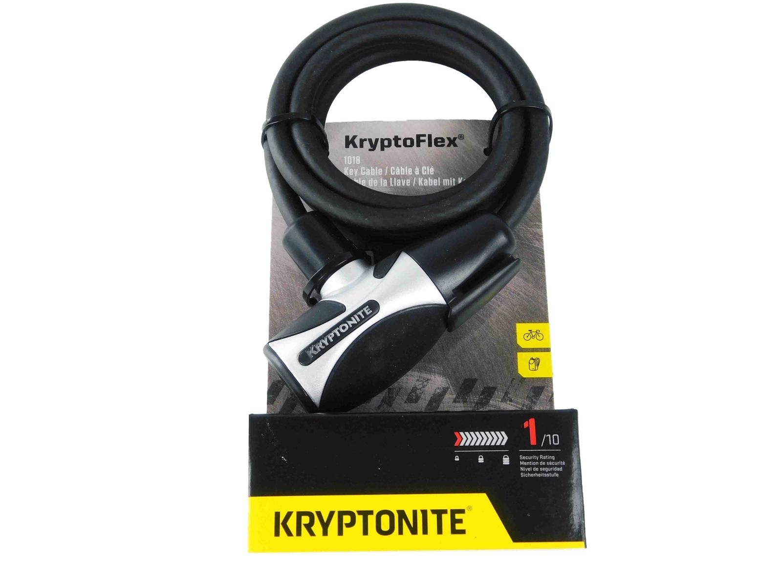 Kryptonite-999805-Kryptoflex-1018-Key-Cable-Bicycle-Lock-10mm-x-6-Foot-image-2