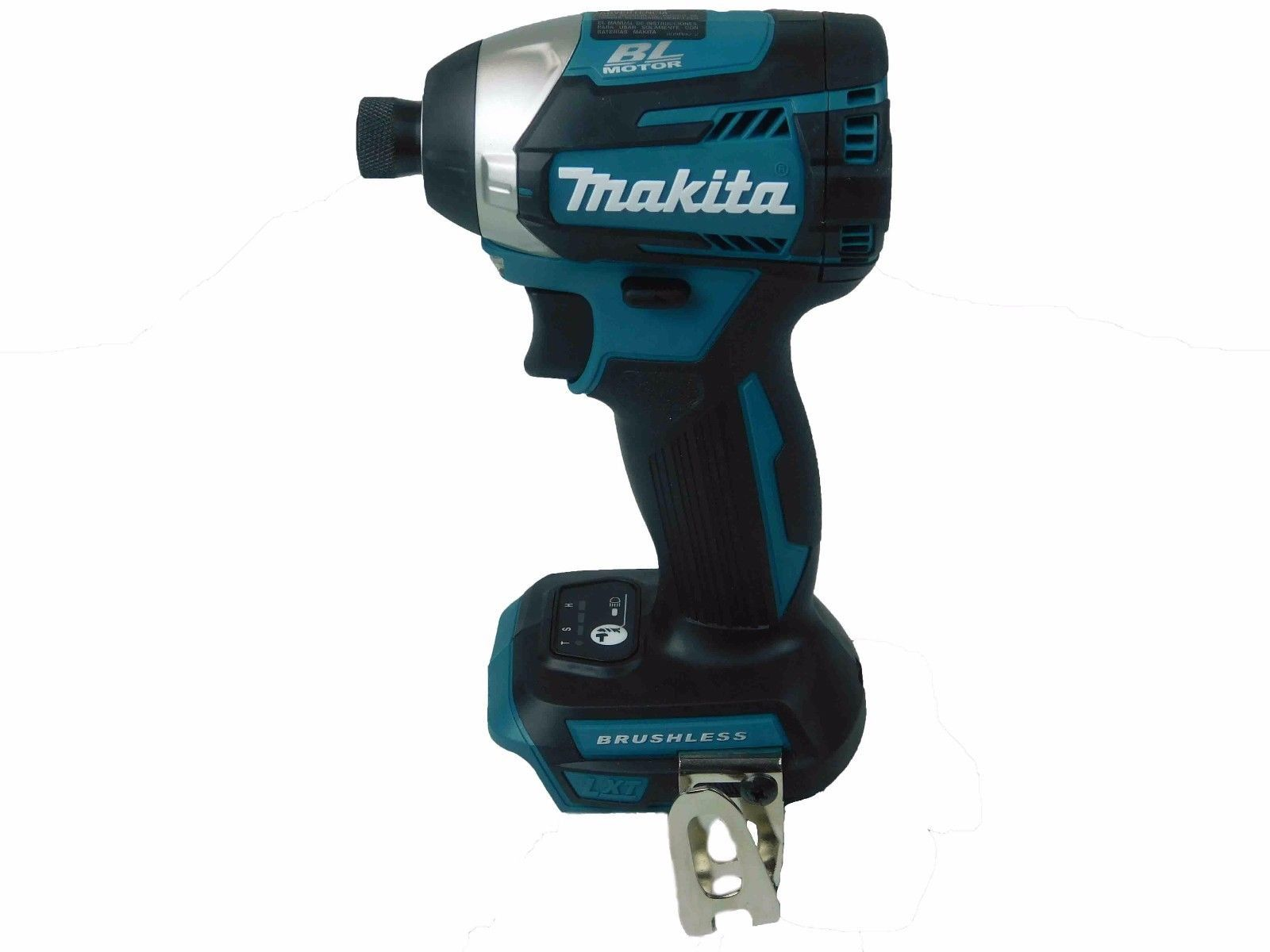 Makita-XDT14Z-18V-LXT-1-4inch-3-Speed-Brushless-Impact-Driver-Bare-Tool-image-1