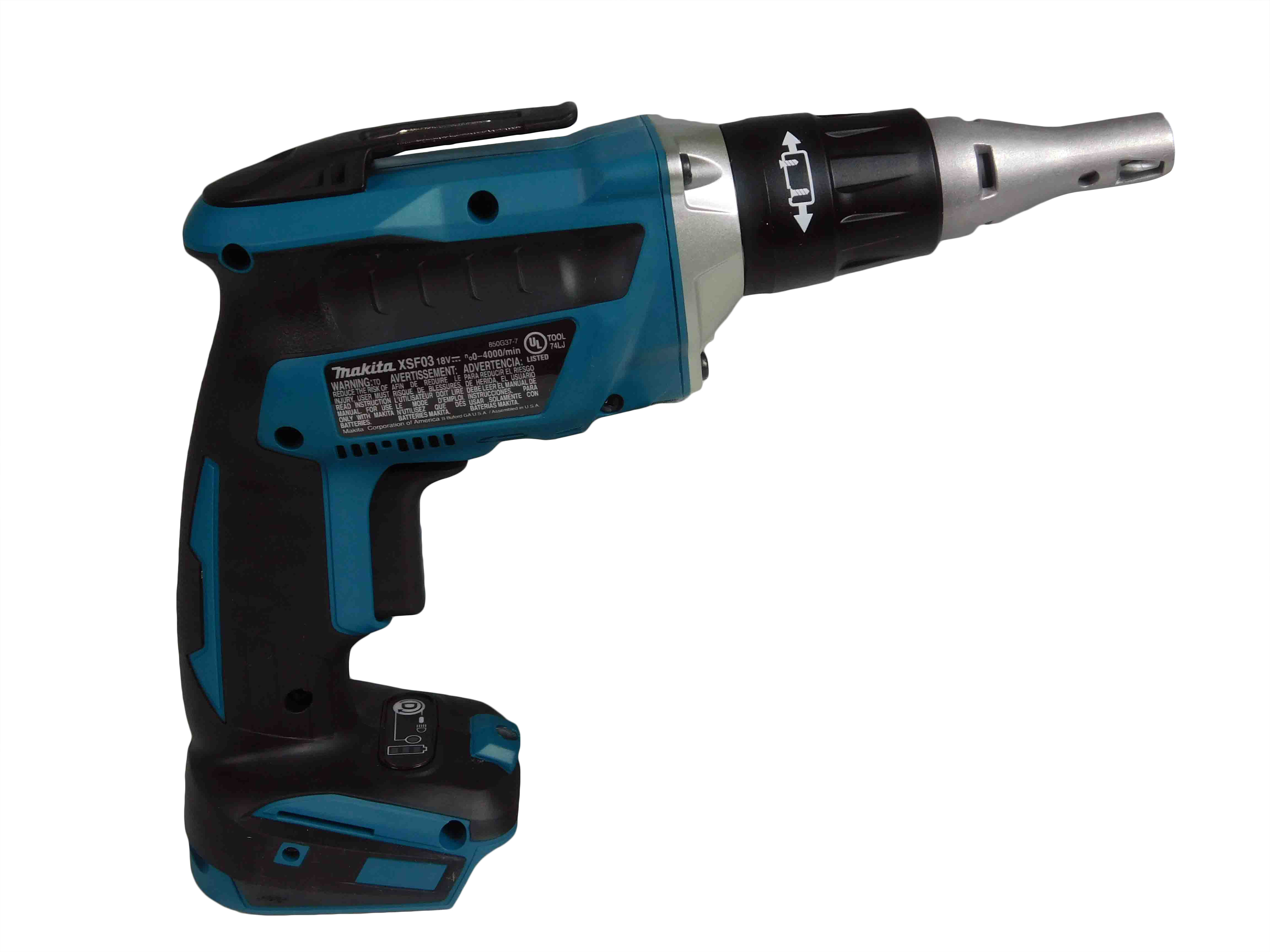 Makita-XSF03Z-18Volt-LXT-Lithium-Ion-Brushless-Cordless-Drywall-Screw-Driver-image-3