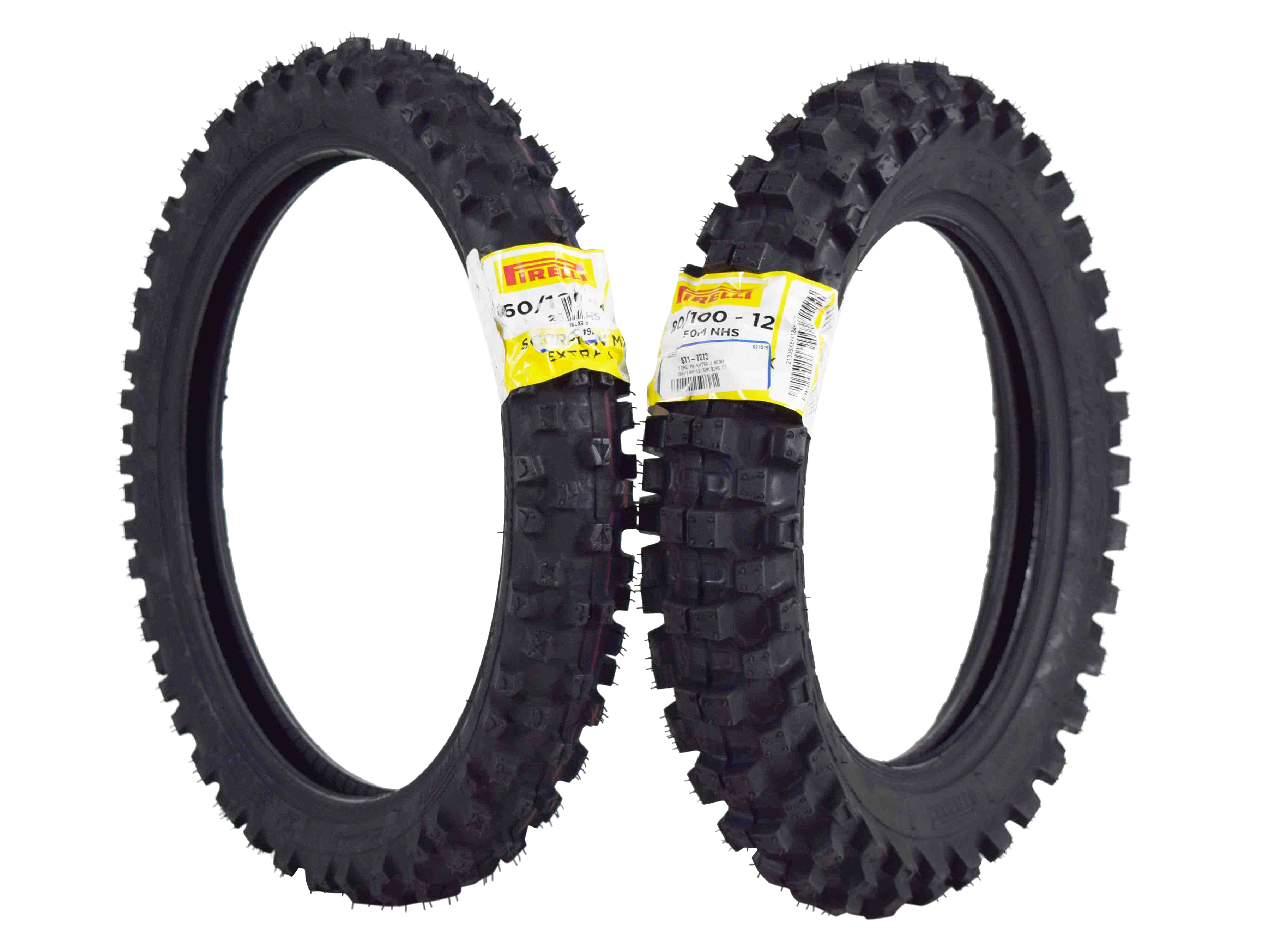 Pirelli-Scorpion-MX-Extra-J-60-100-14-Front-80-100-12-Rear-Pit-Bike-Motorcycle-Tires-Set-image-1