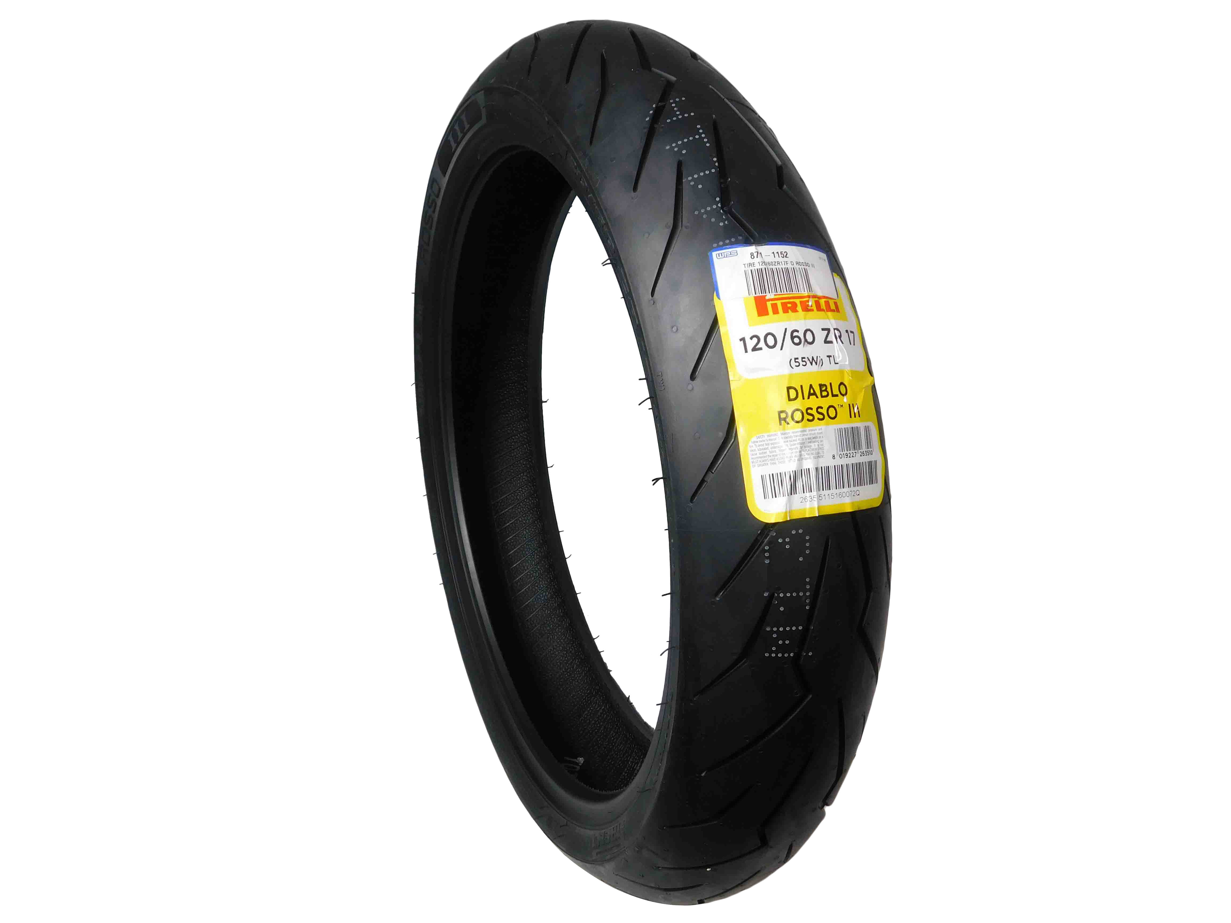 PirelliDiabloRosso-III-120-60ZR17F-D-Front-Motorcycle-Tire-Rosso-image-1