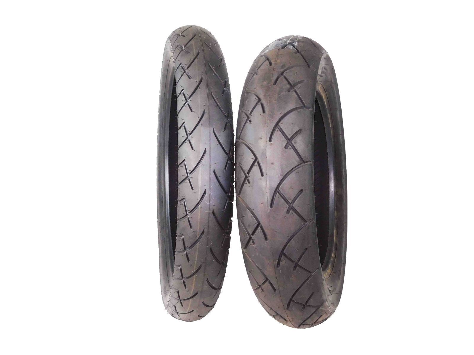 Full-Bore-100-90-19-Front-140-90-15-Rear-Set-Cruiser-Motorcycle-Tires-image-1