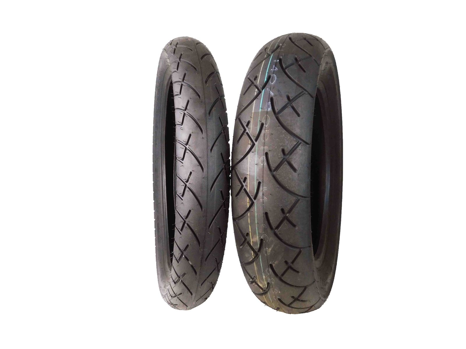 Full-Bore-100-90-19-Front-140-90-16-Rear-Set-Cruiser-Motorcycle-Tires-image-1