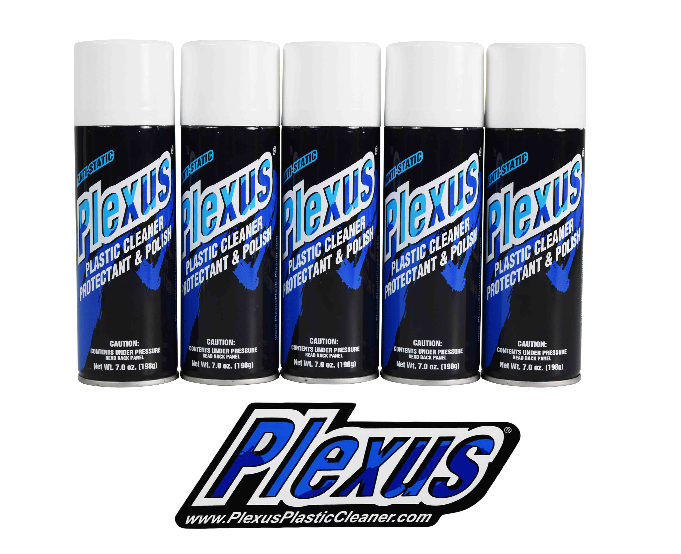 Plexus-Plastic-Cleaner-Protectant-Polish-7oz-Can-5-Pack-MADE-In-the-USA-image-1