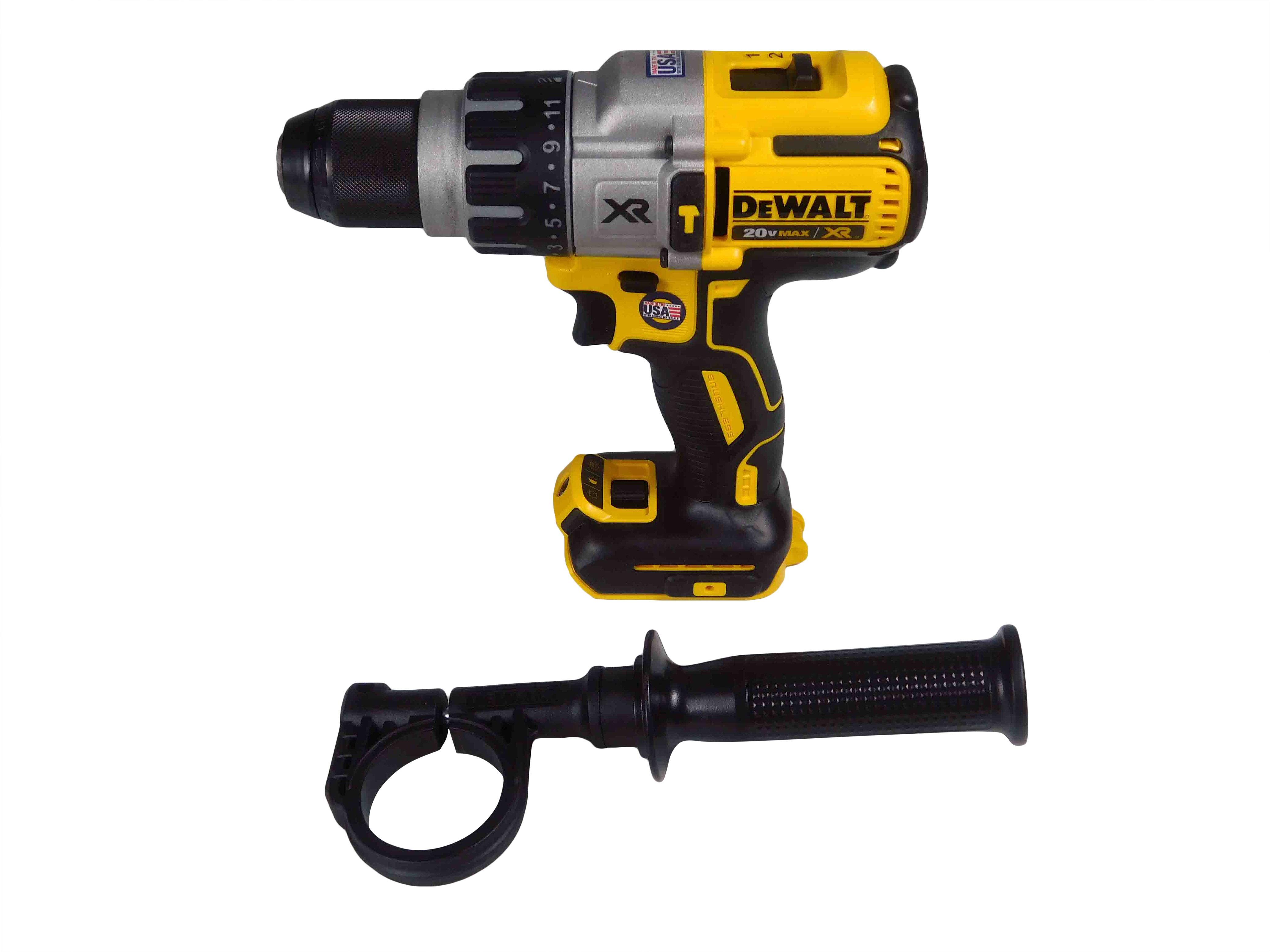 DEWALT-DCD996B-20V-MAX-Li-Ion-1-2inch-3-Speed-Brushless-Hammer-Drill-image-1