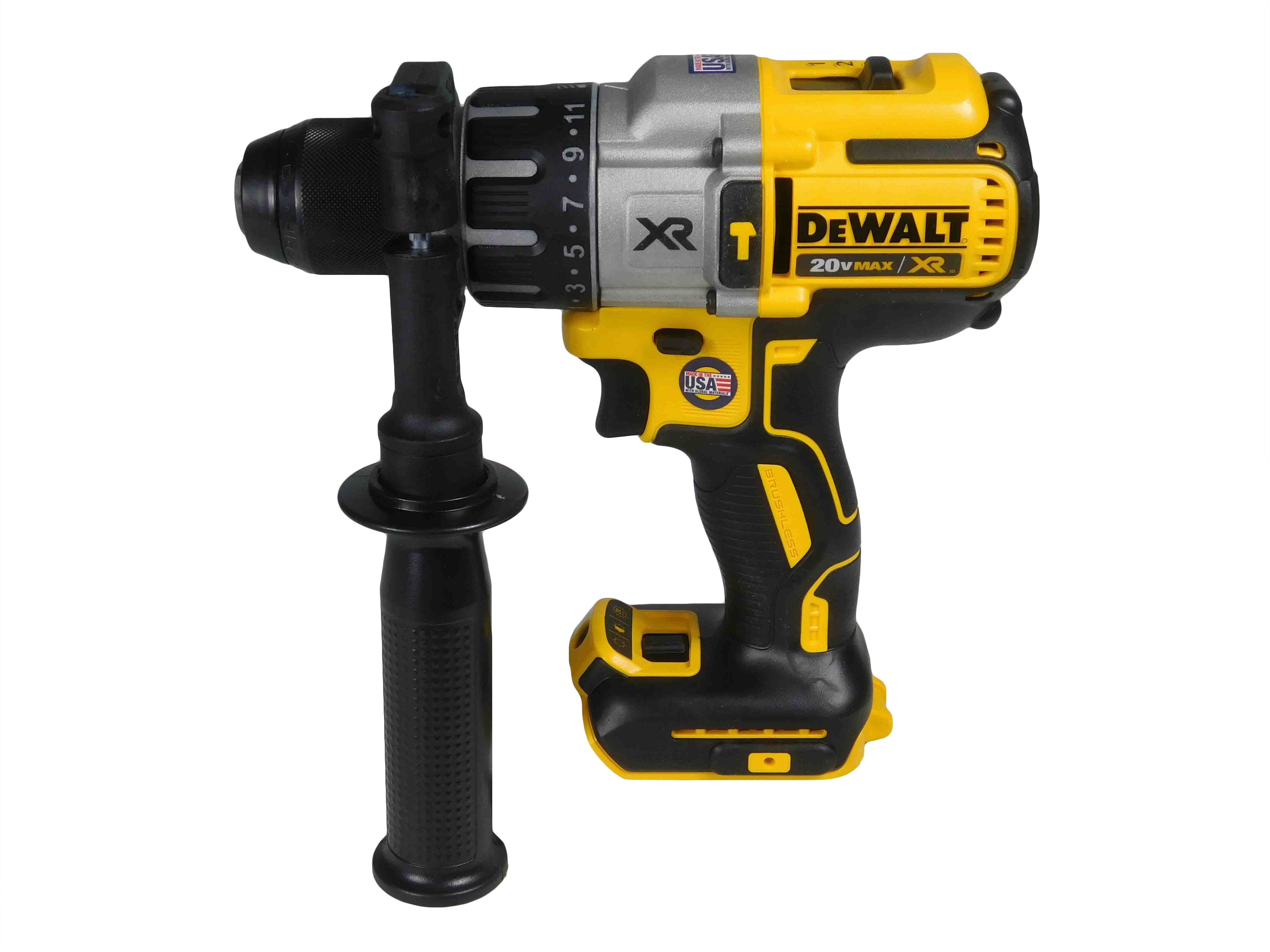 DEWALT-DCD996B-20V-MAX-Li-Ion-1-2inch-3-Speed-Brushless-Hammer-Drill-image-2