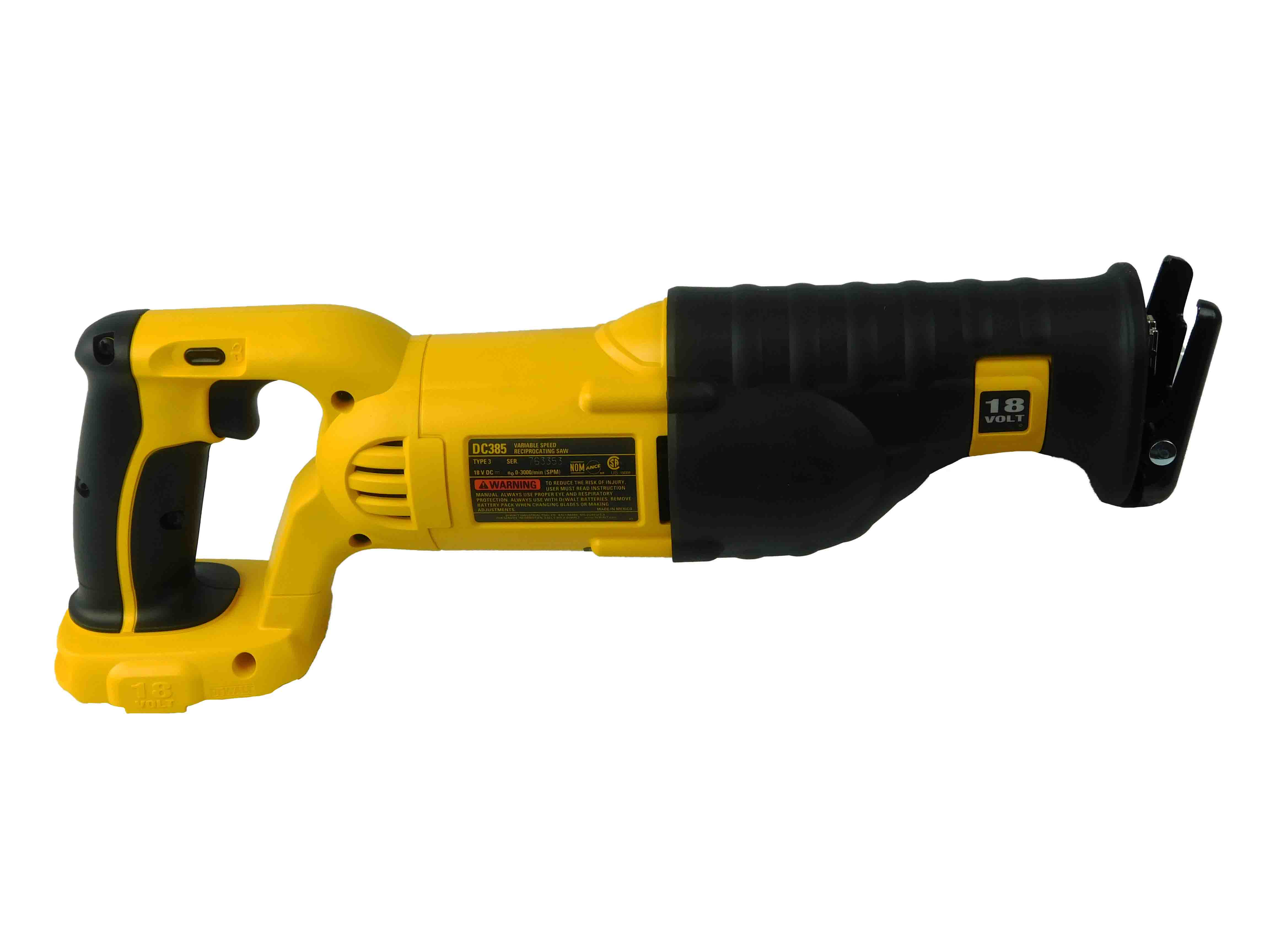 Dewalt-DC385-18V-Reciprocating-Sawzall-Variable-Speed-Cordless-Bare-Tool-image-5