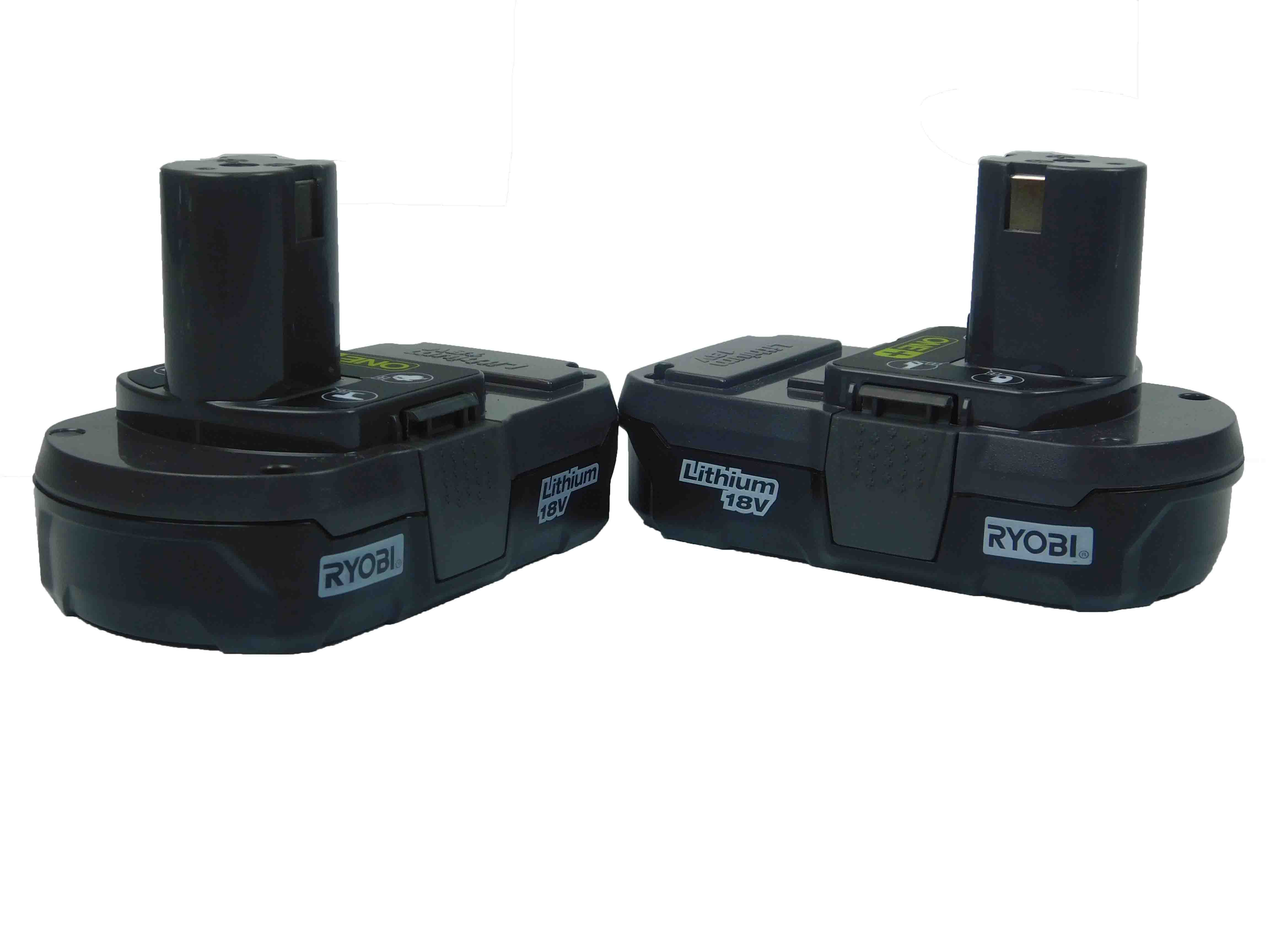 Ryobi-One-P102-18V-Lithium-Ion-Battery-Two-Pack-image-1