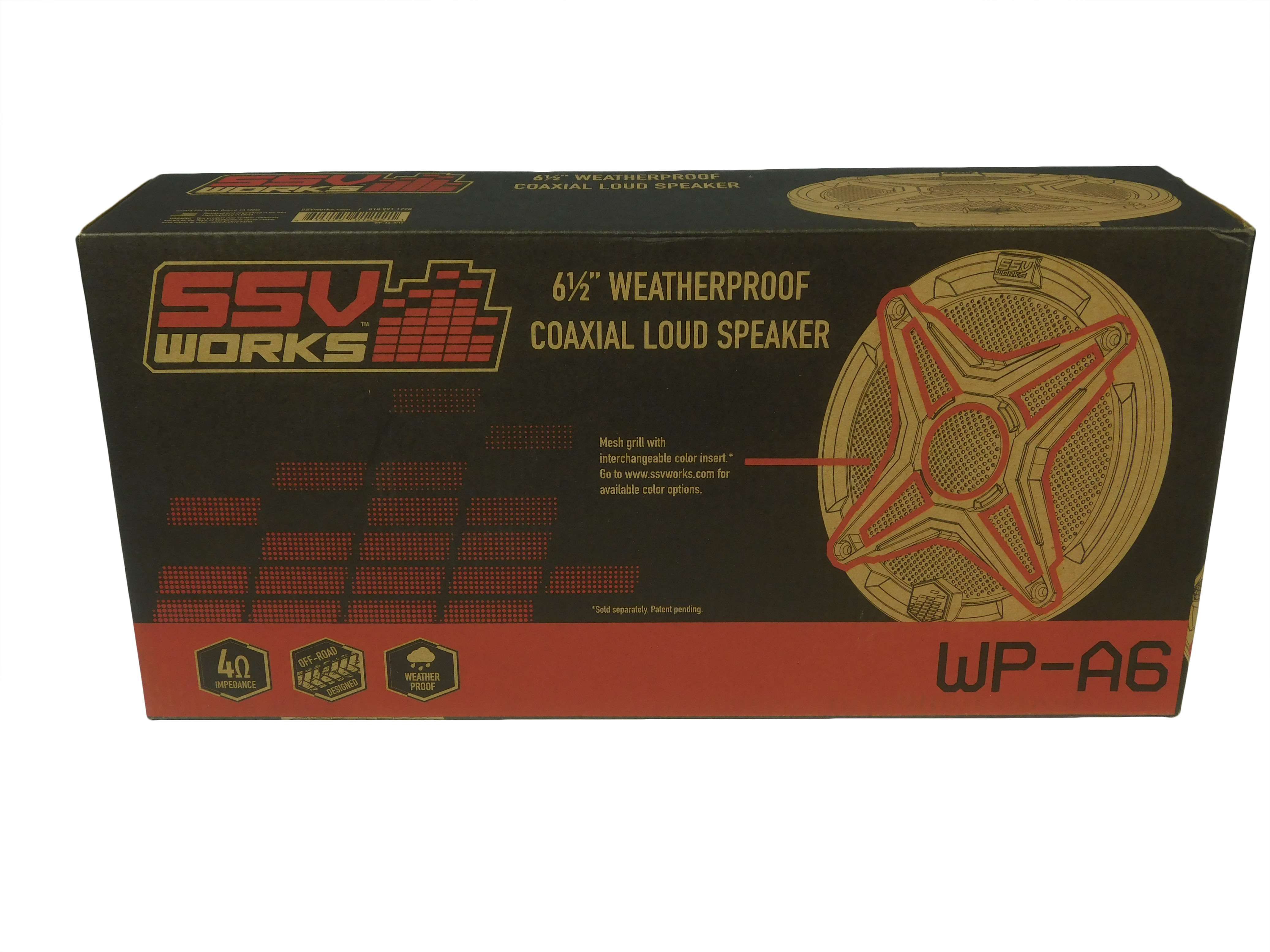 SSV-Works-RZ3-F65-Front-Speaker-Pods-Polaris-RZR-XP-1000-Two-Speakers-image-8